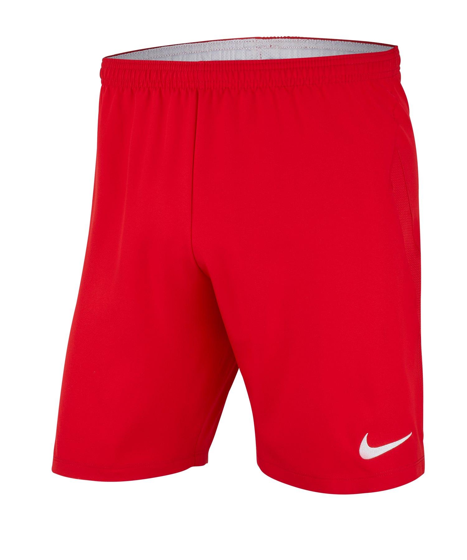 Nike Laser IV Dri-FIT Short Kids Rot F657 - rot