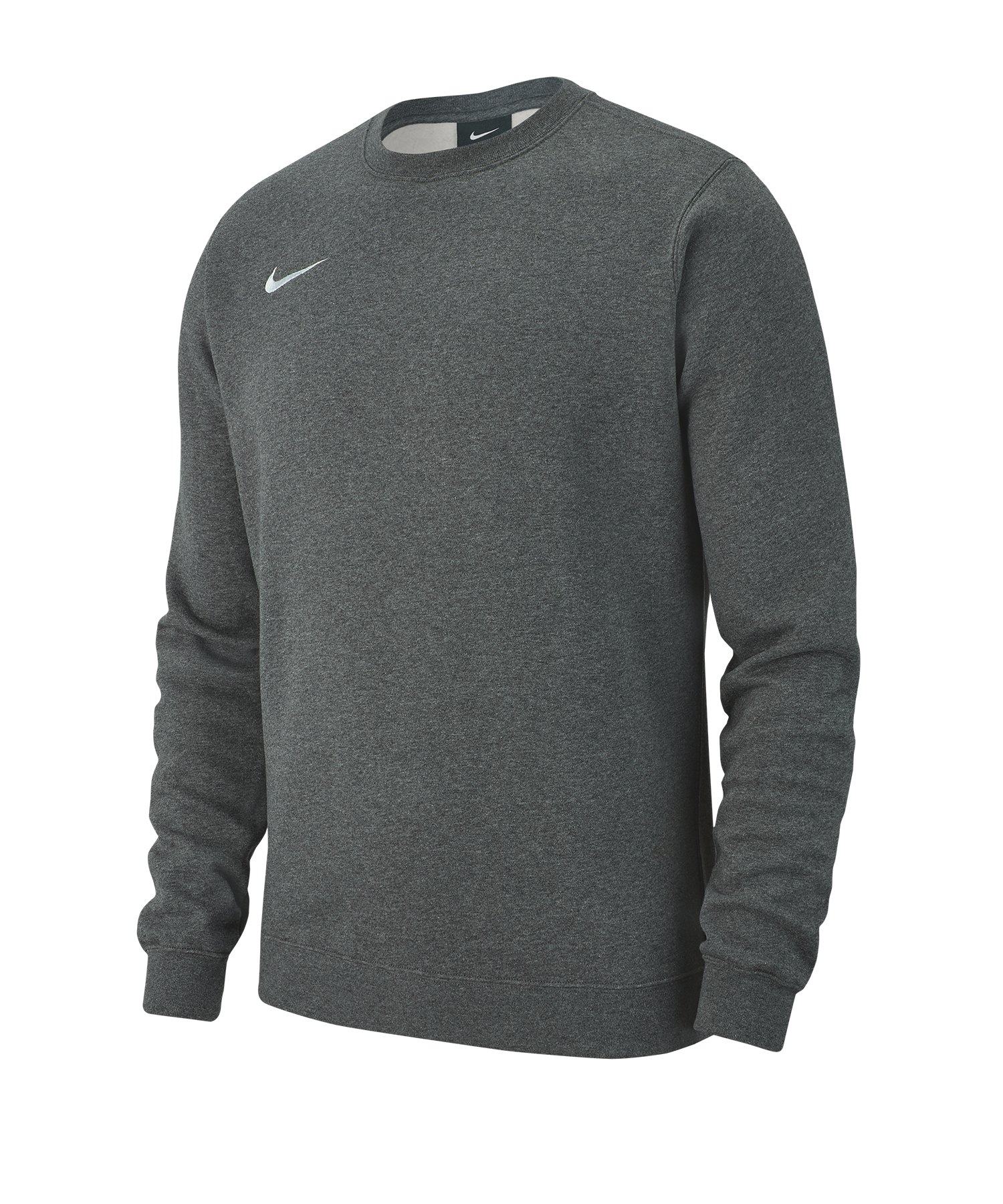 Nike Team Club 19 Fleece Sweatshirt Grau F071 - grau