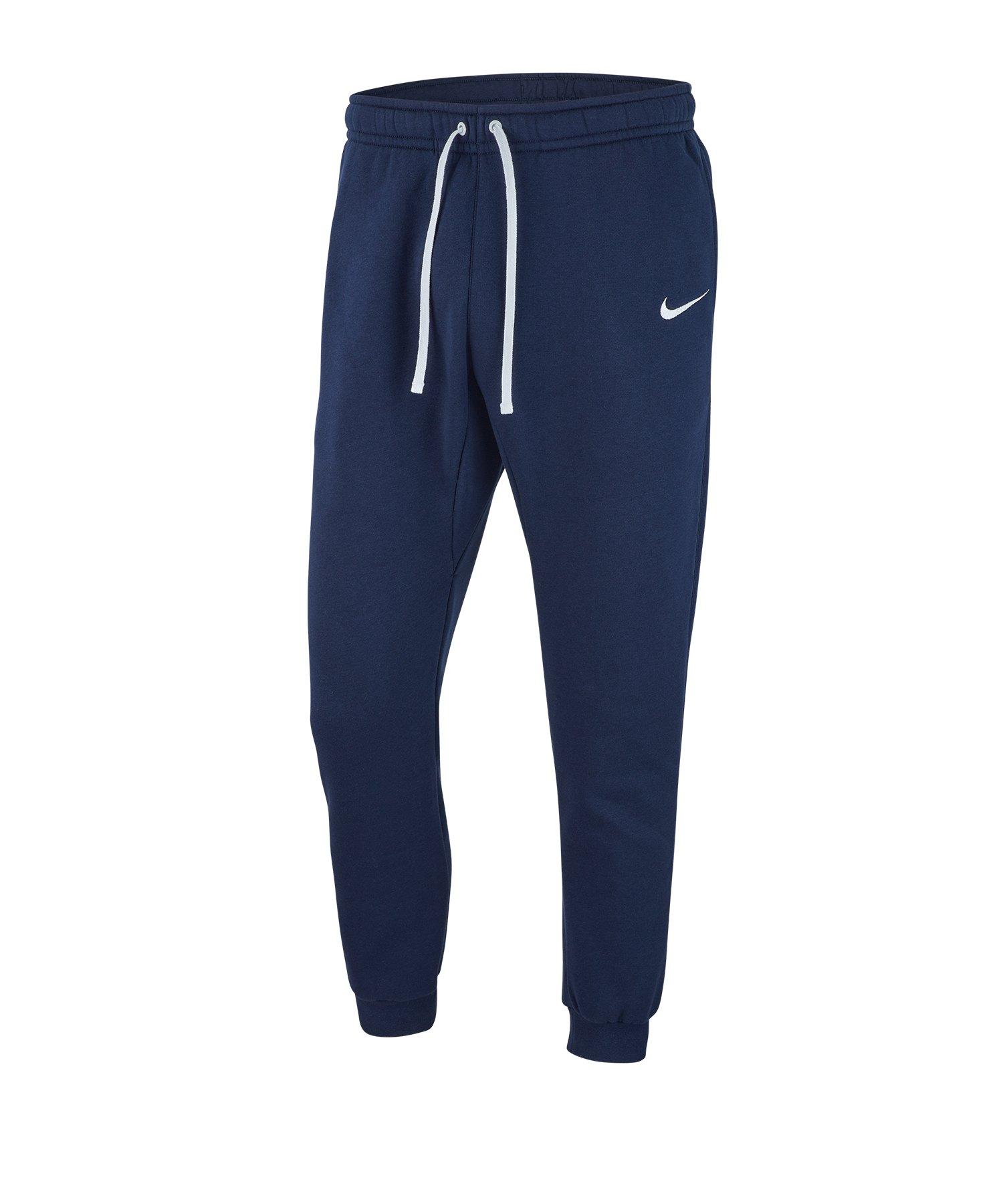 Nike Team Club 19 Fleece Jogginghose Blau F451 - blau
