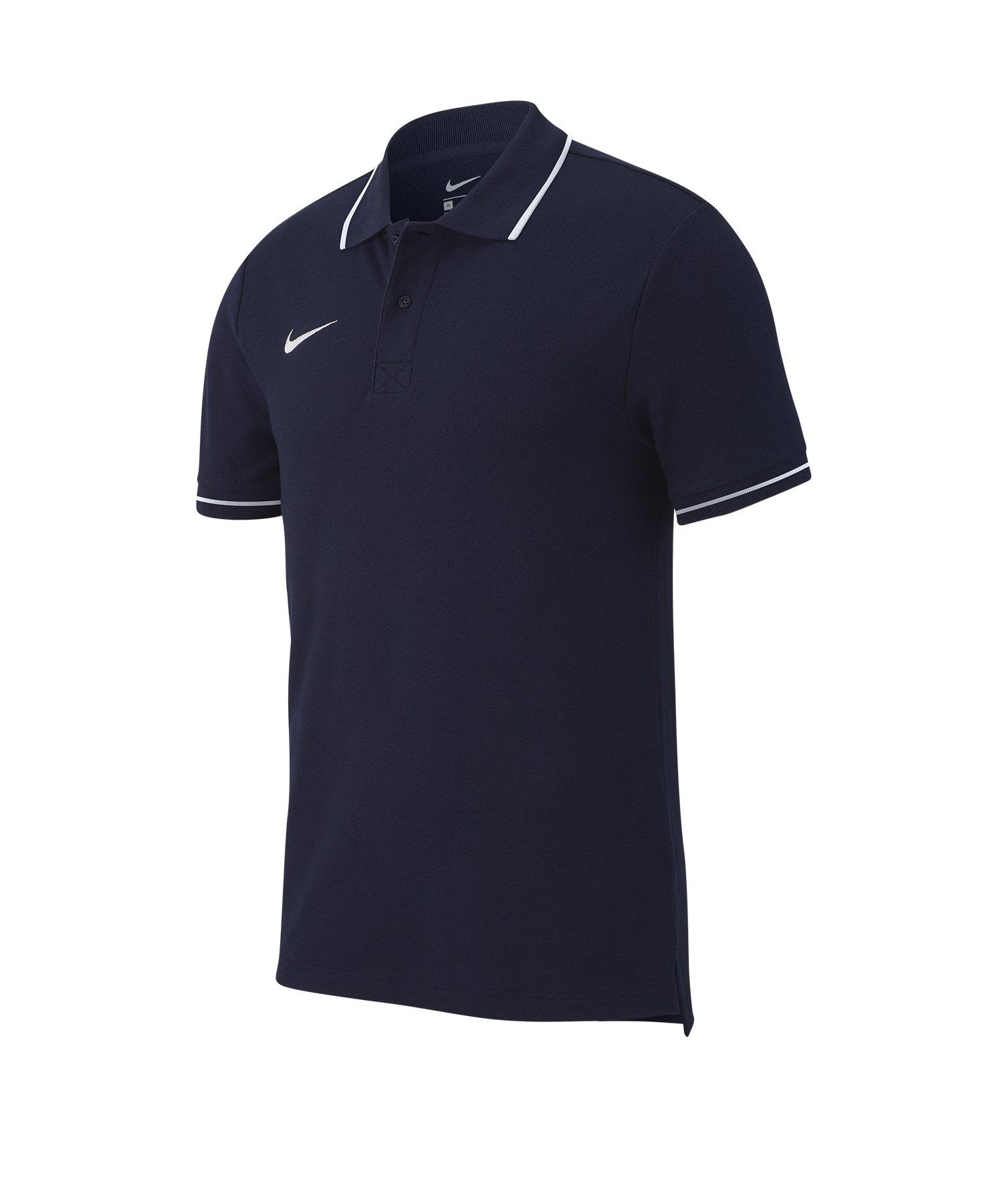 Nike Club 19 Poloshirt Blau F451 - blau