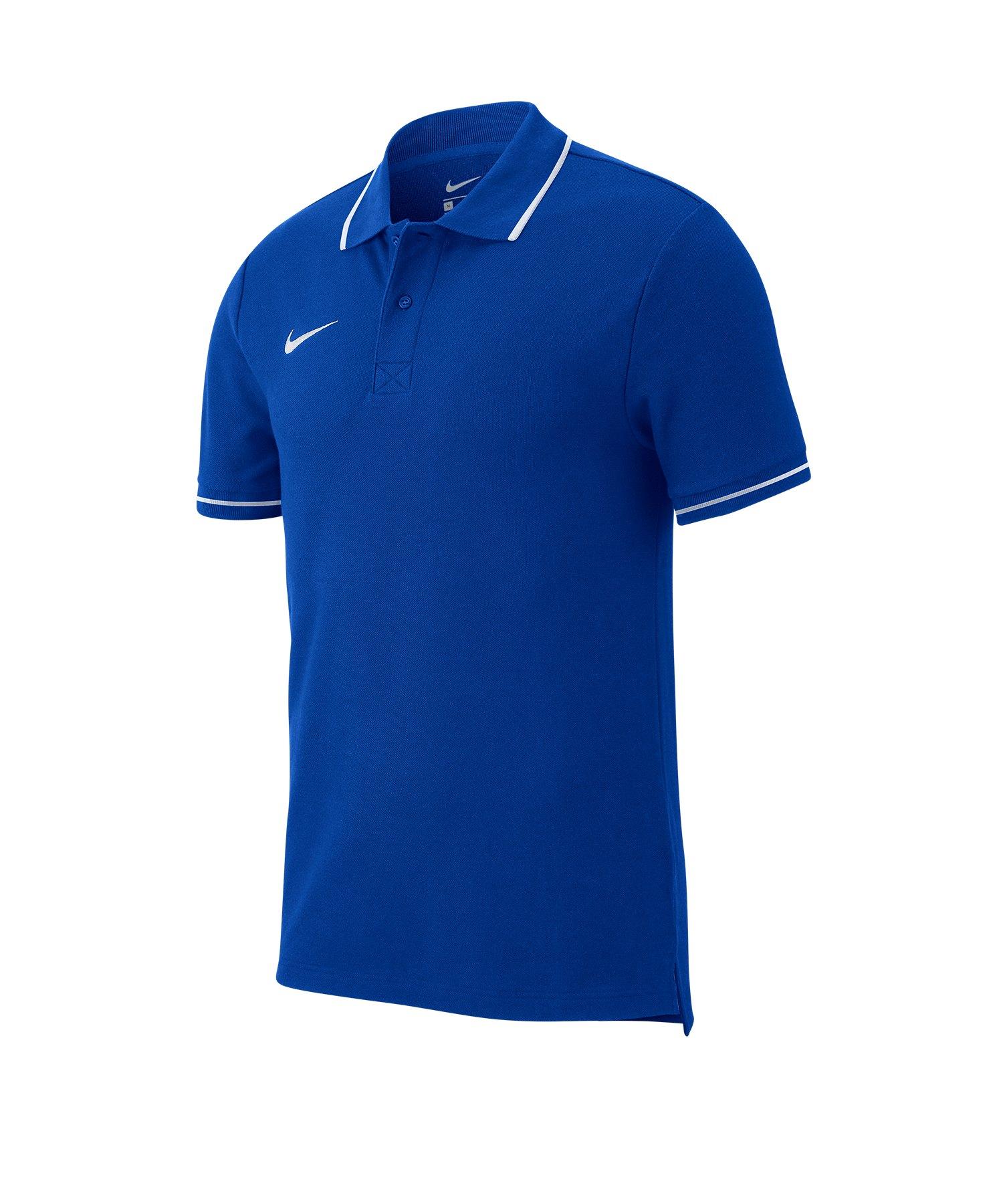 Nike Club 19 Poloshirt Blau F463 - blau