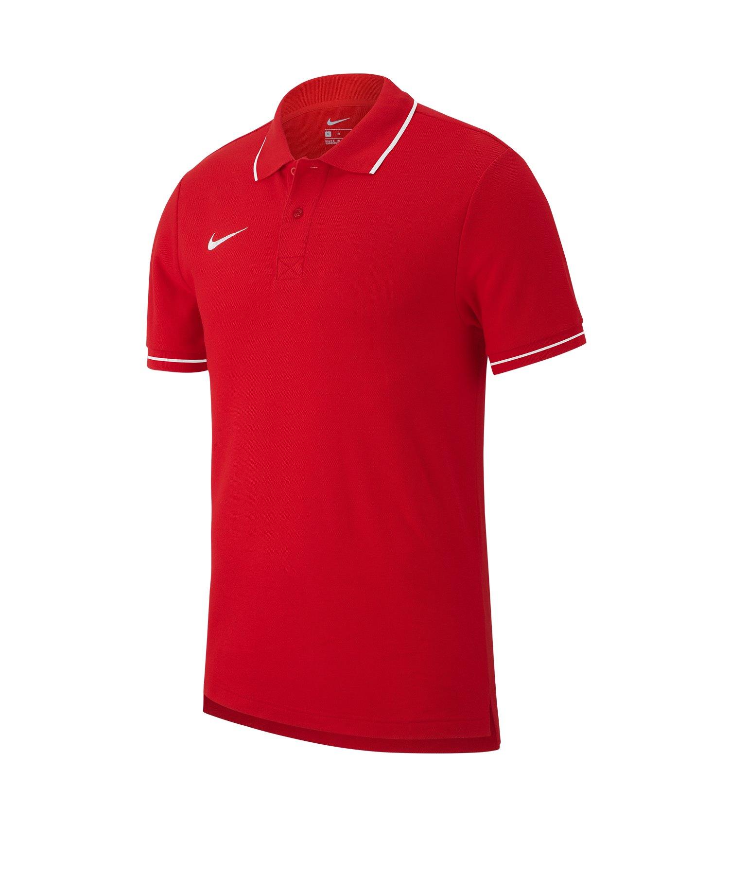 Nike Club 19 Poloshirt Rot F657 - rot