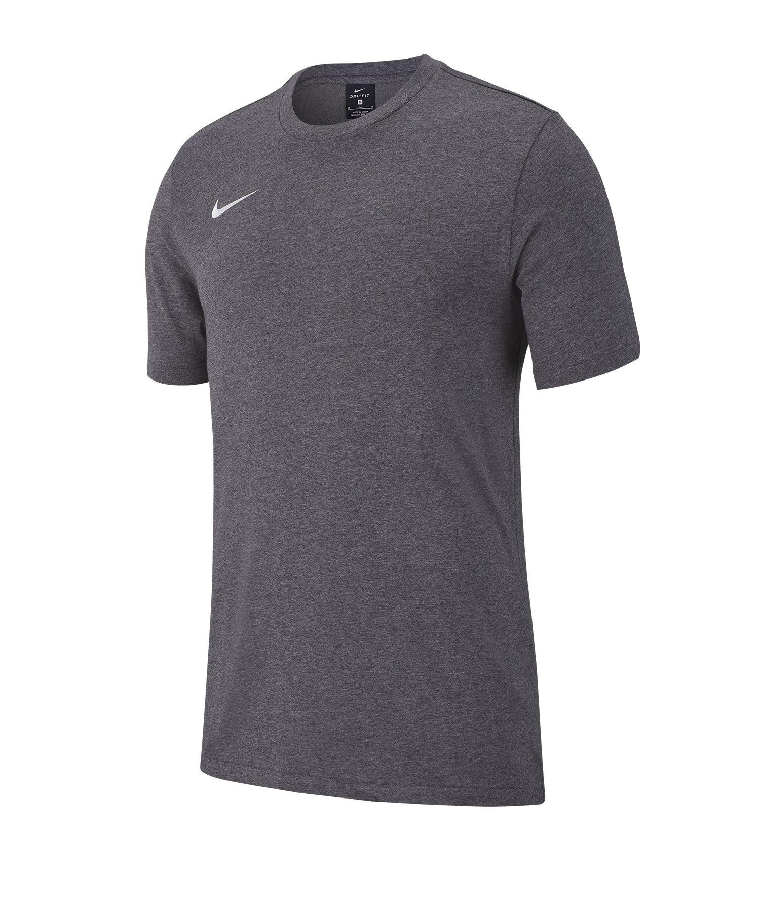 Nike Club 19 Tee T-Shirt Grau F071 - grau
