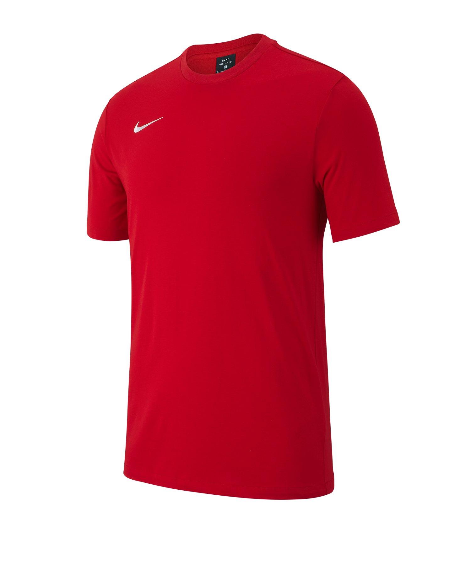 Nike Club 19 Tee T-Shirt Rot F657 - rot