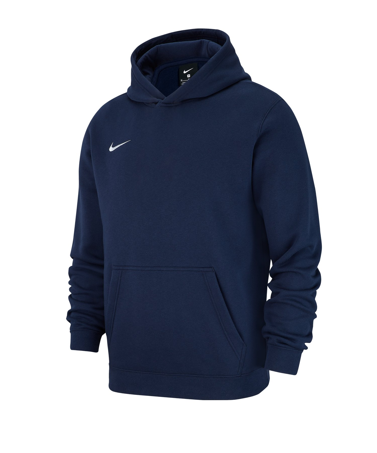 Nike Club 19 Fleece Hoody Kids Blau F451 - blau