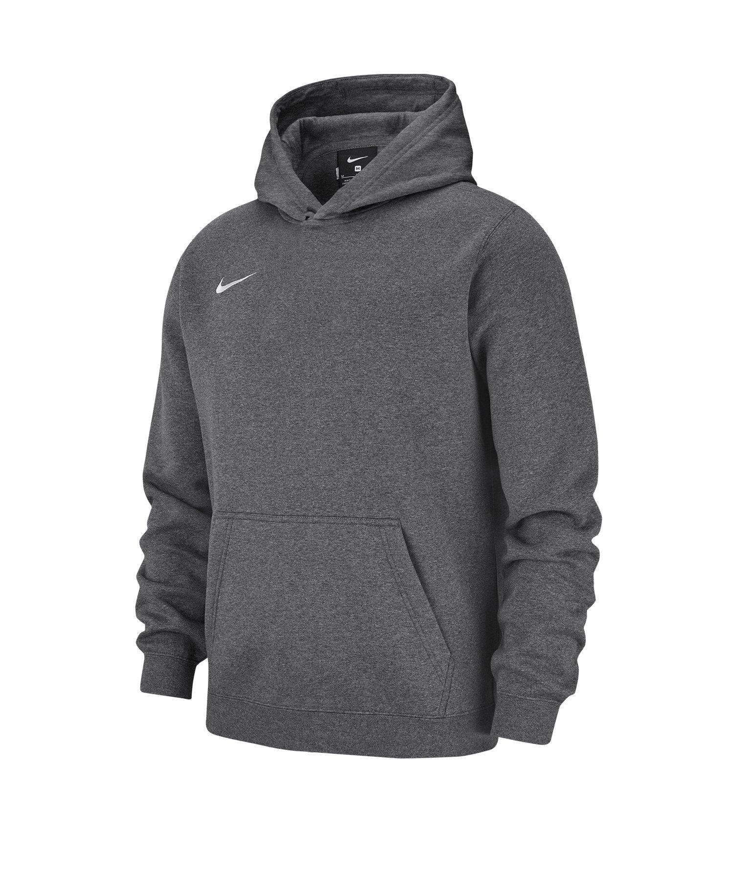 Nike Club 19 Fleece Hoody Kids Grau F071 - grau