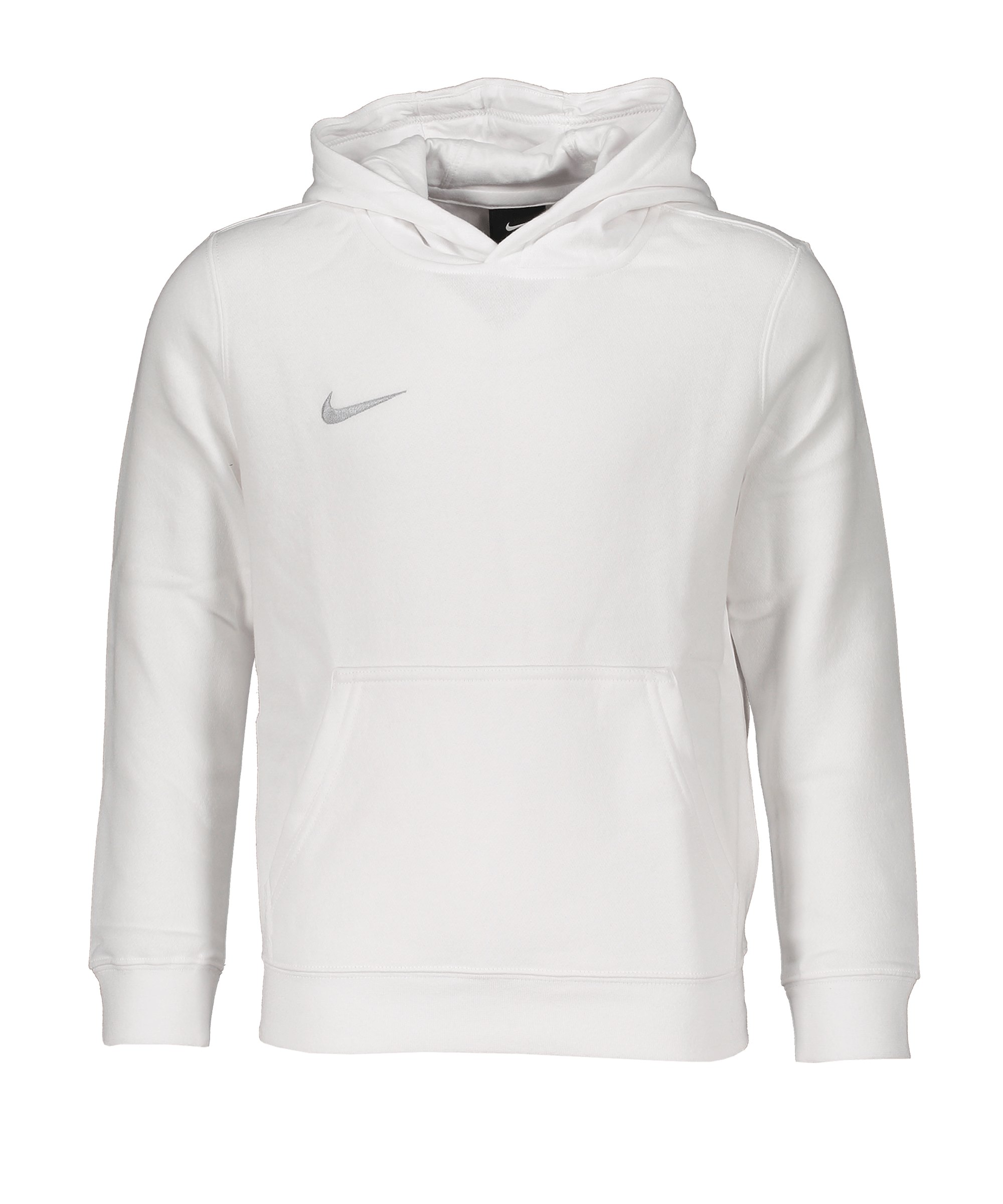 Nike Club 19 Fleece Hoody Kids Weiss F100 - weiss