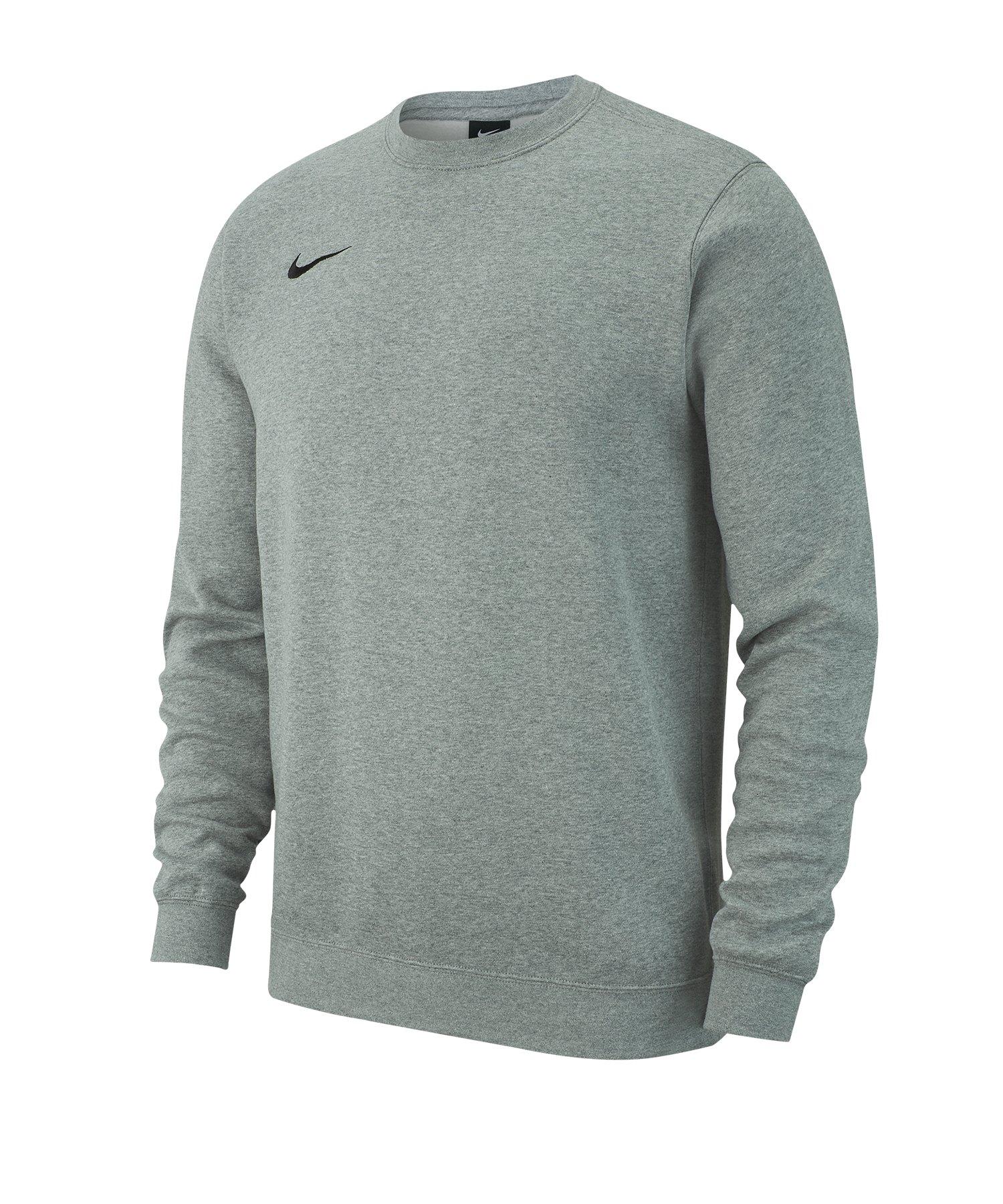 Nike Team Club 19 Fleece Sweatshirt Kids Grau F063 - grau