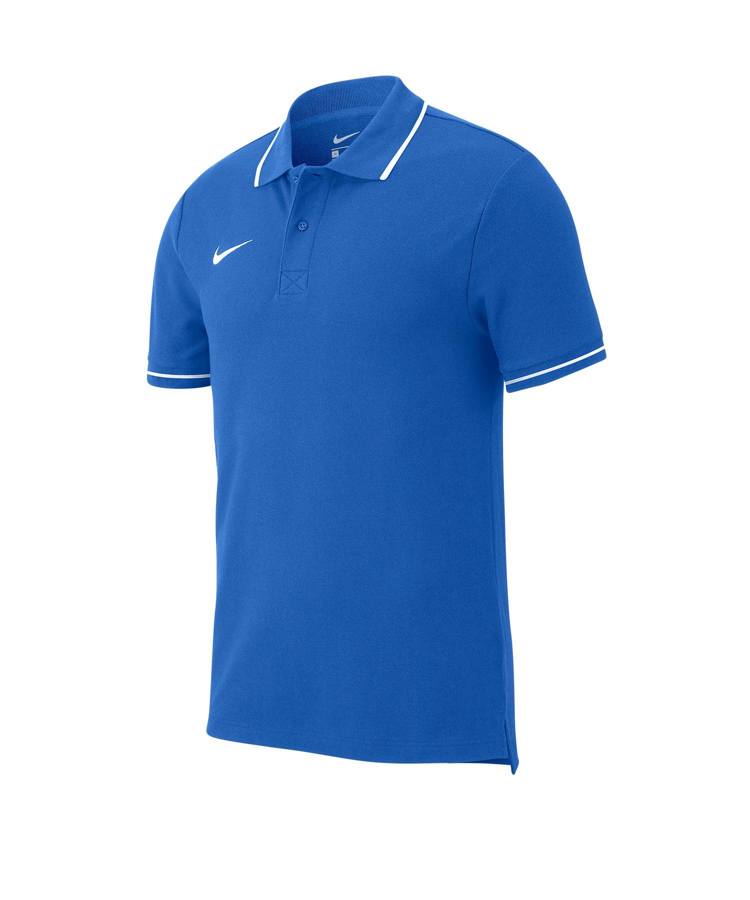 Nike Club 19 Poloshirt Kids Blau F463 - blau