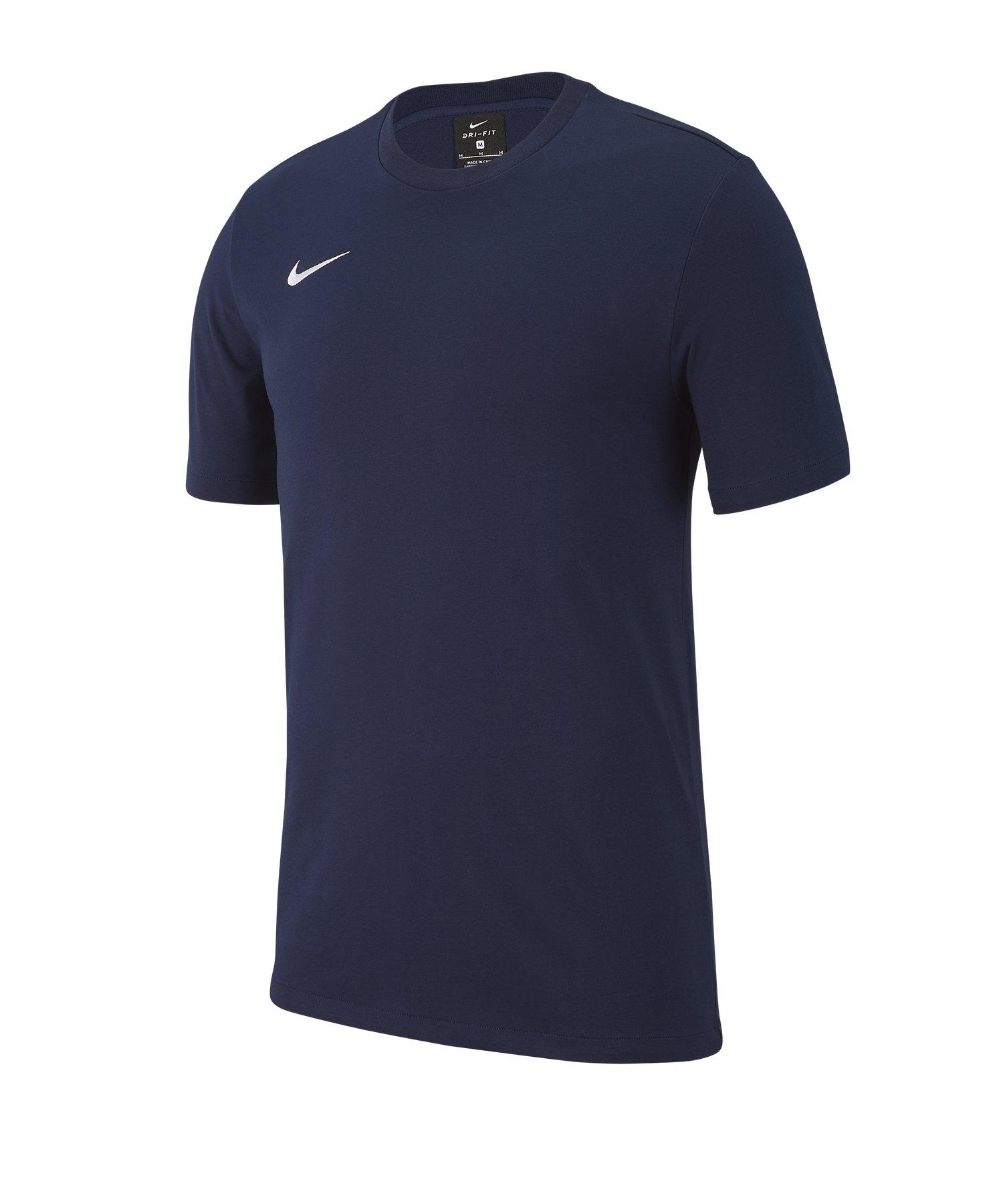 Nike Club 19 T-Shirt Kids Blau F451 - blau