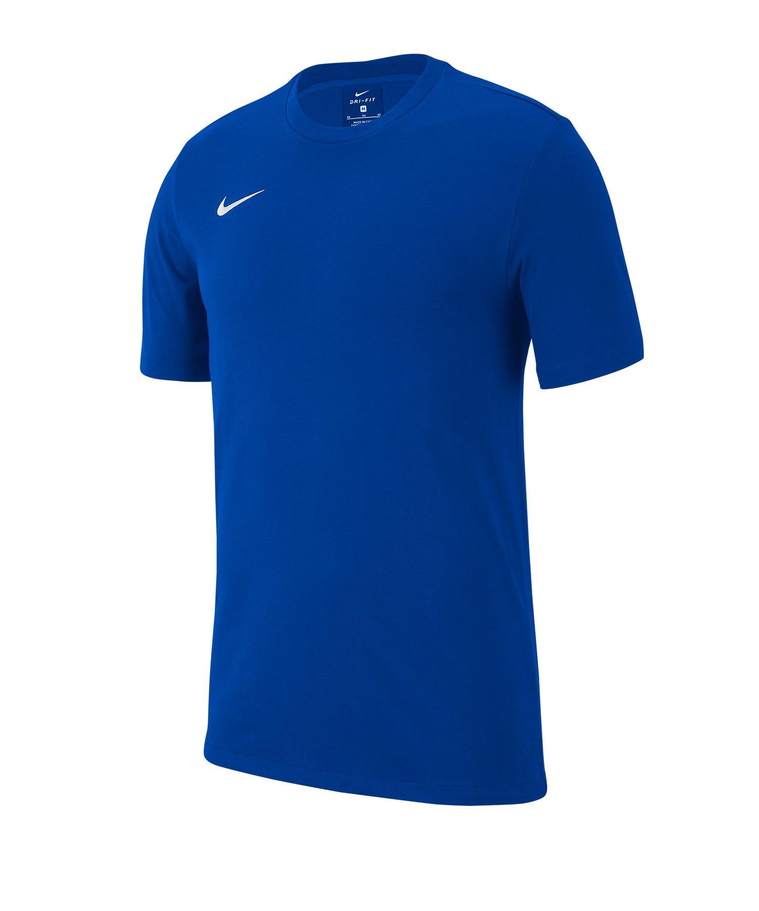 Nike Club 19 T-Shirt Kids Blau F463 - blau