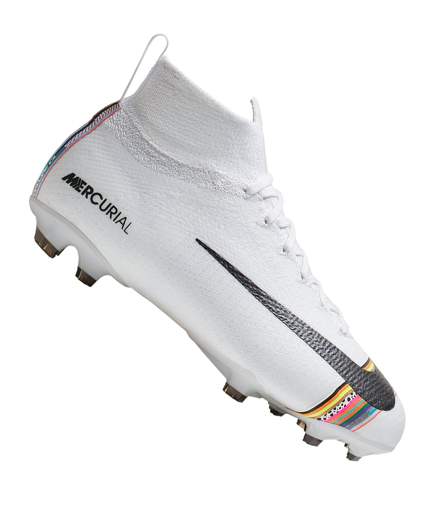 Nike Mercurial Superfly VI Elite FG Kids F109 - Weiss
