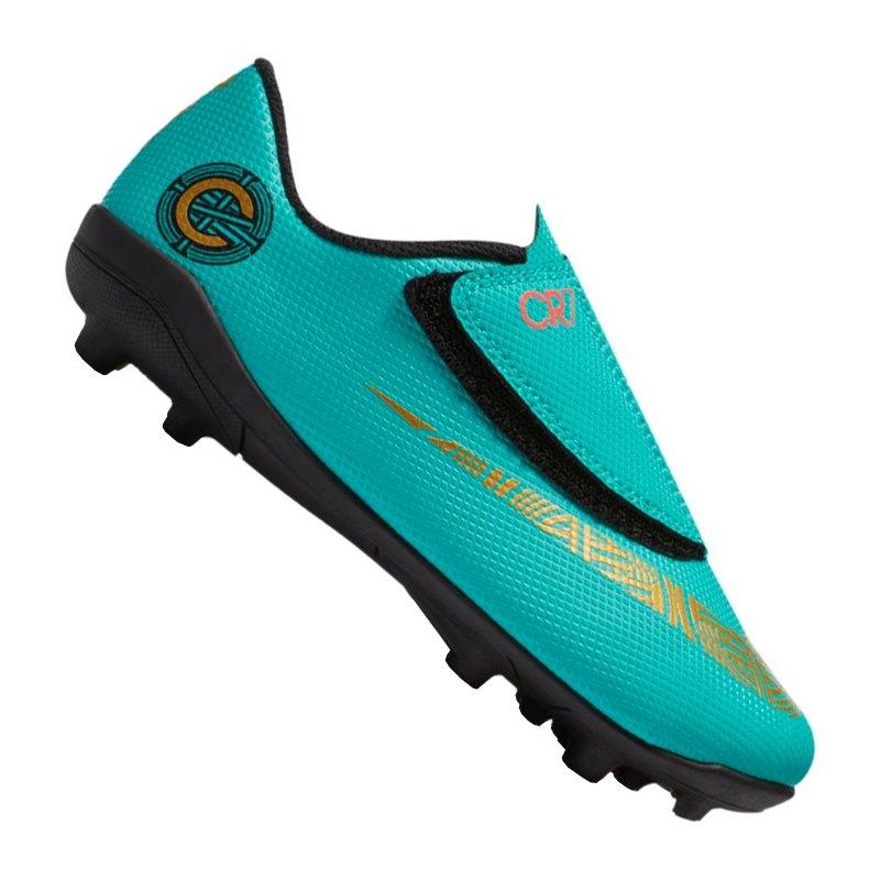 Nike Jr Mercurial Vapor XII Club CR7 MG Kids F390 - gruen