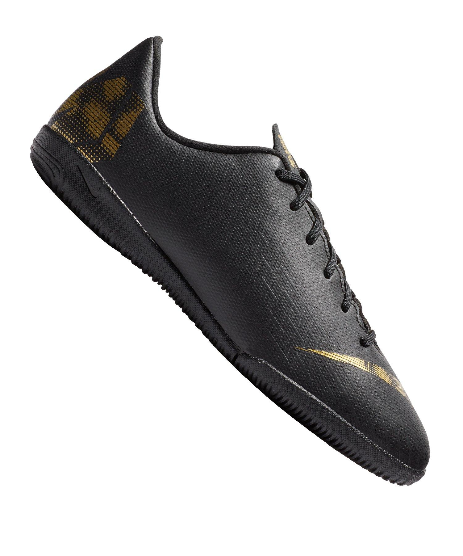 Nike Jr Mercurial VaporX XII Academy IC Kids F077 - schwarz