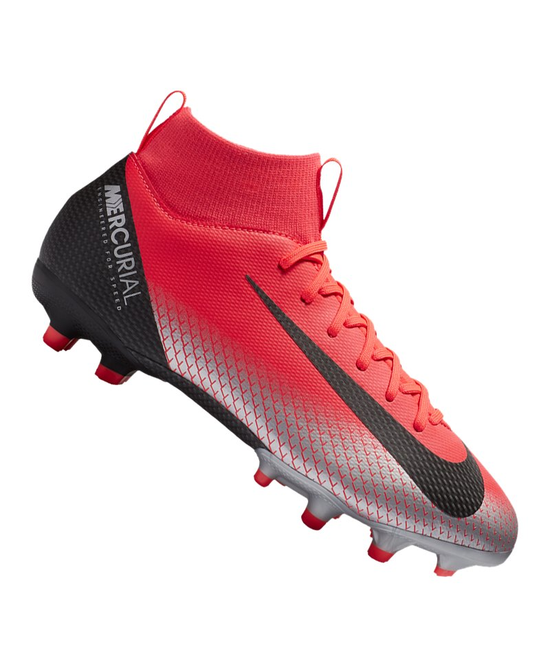 Nike Jr Mercurial Superfly VI Academy CR7 MG Kids F600 - rot