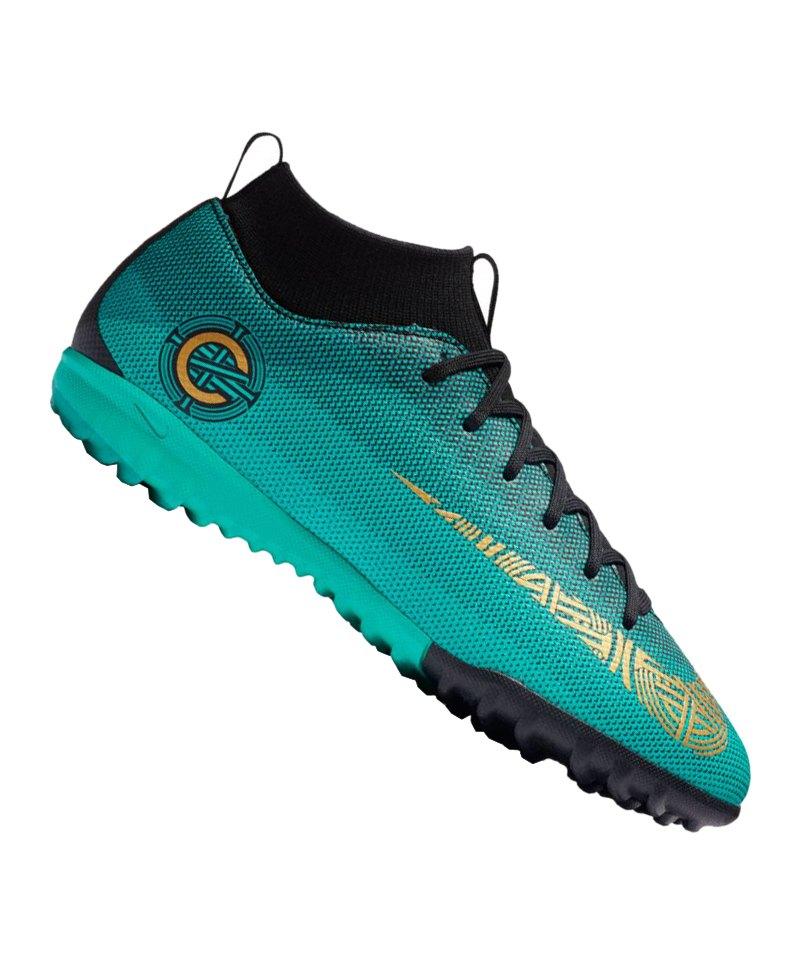 Nike Jr Mercurial Superfly VI Academy CR7 TF F390 - tuerkis