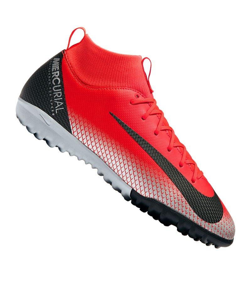 Nike Jr Mercurial Superfly VI Academy CR7 TF Kids F600 - rot