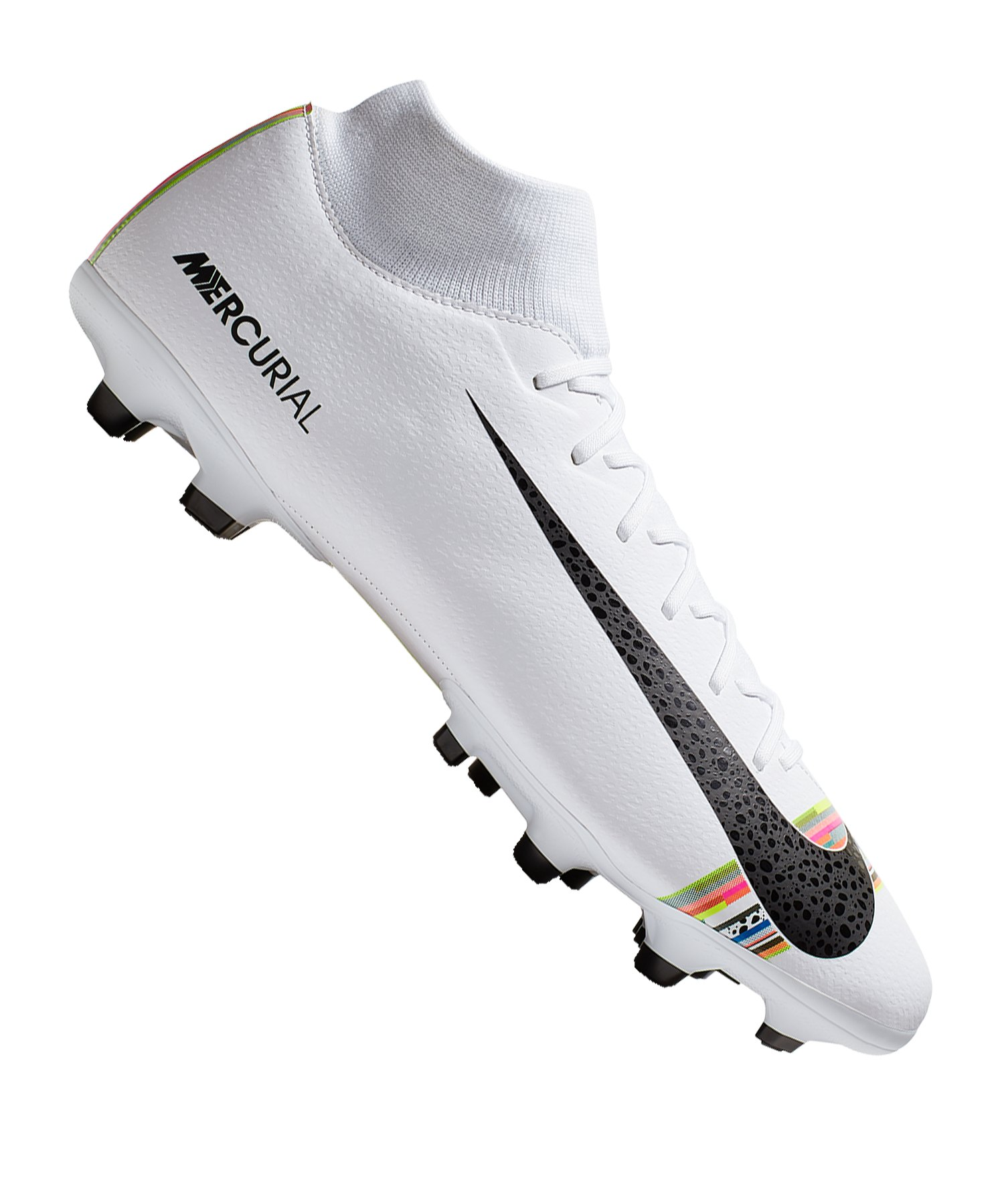 Nike Mercurial Superfly VI Academy MG Weiss F109 - Weiss