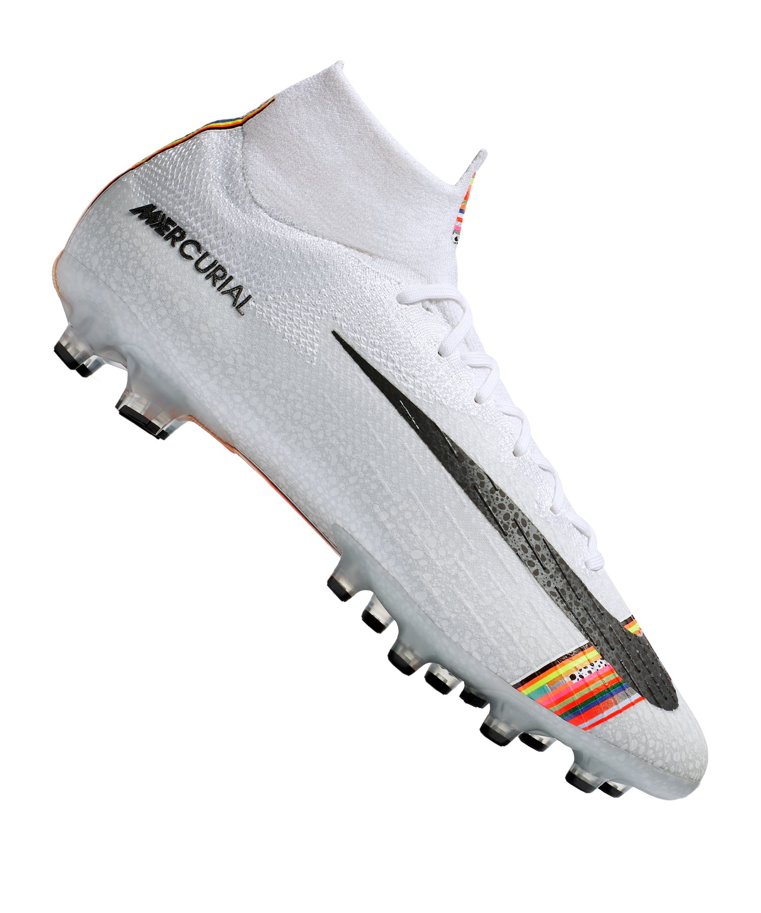 Nike Mercurial Superfly VI Elite AG-Pro Weiss F109 - Weiss