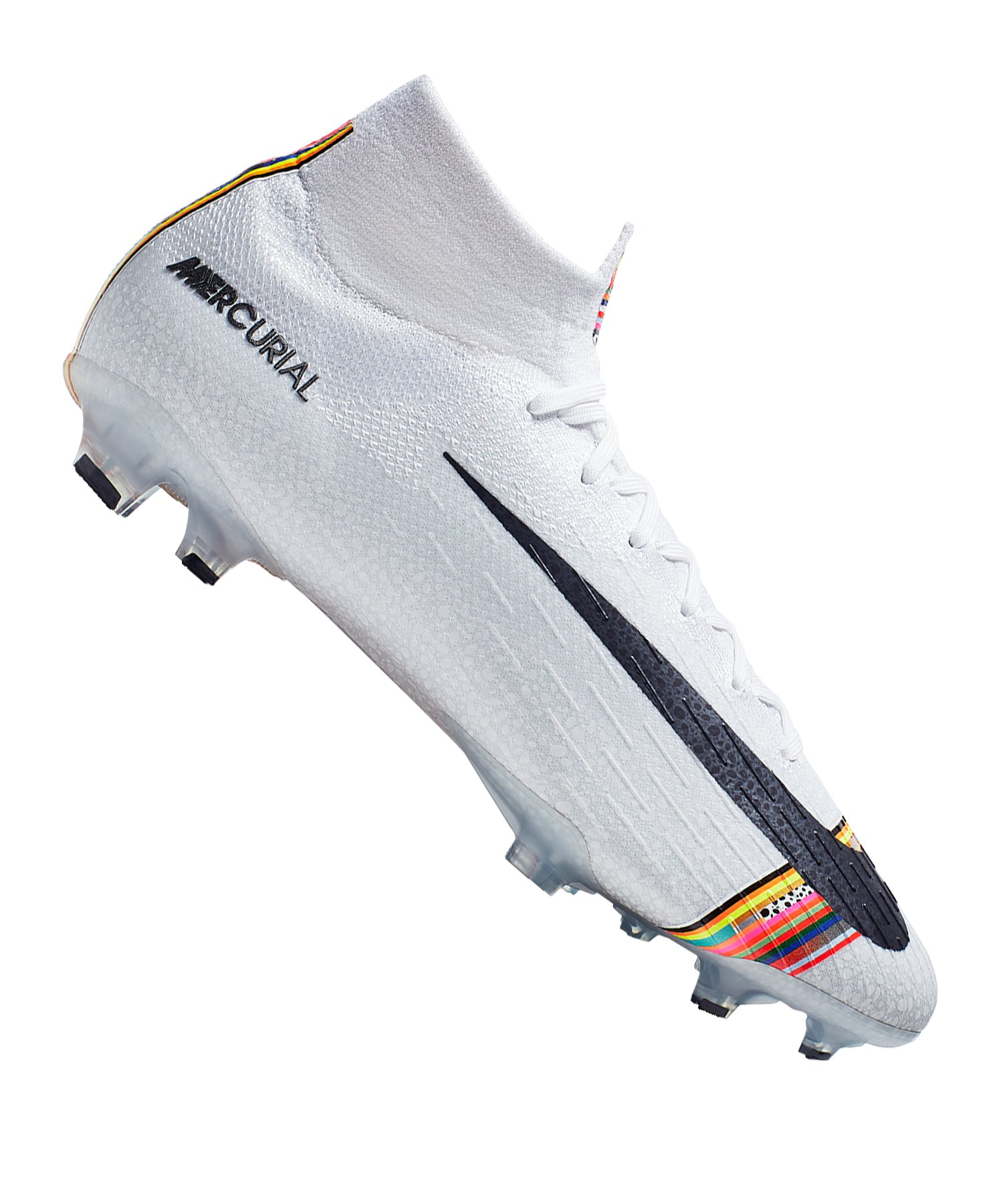 Nike Mercurial Superfly VI Elite FG Weiss F009 - weiss