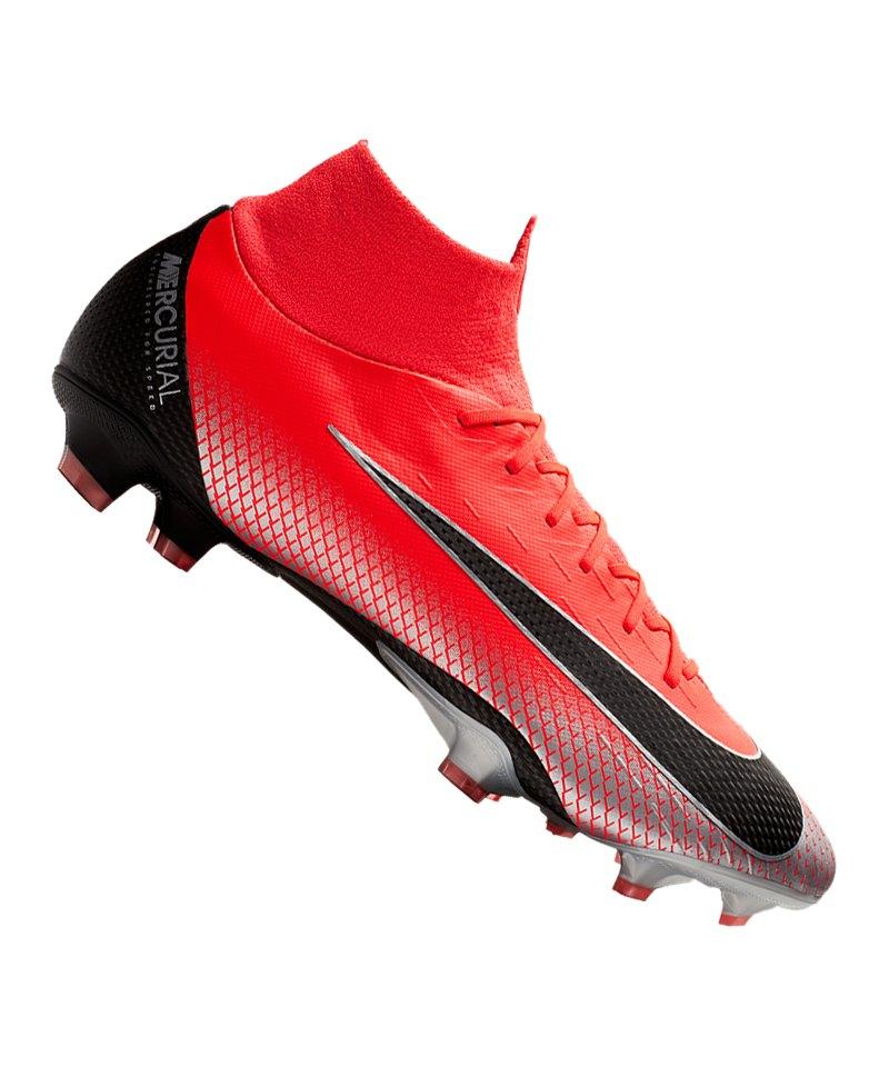 Nike Mercurial Superfly VI Pro CR7 FG Rot F600 - rot