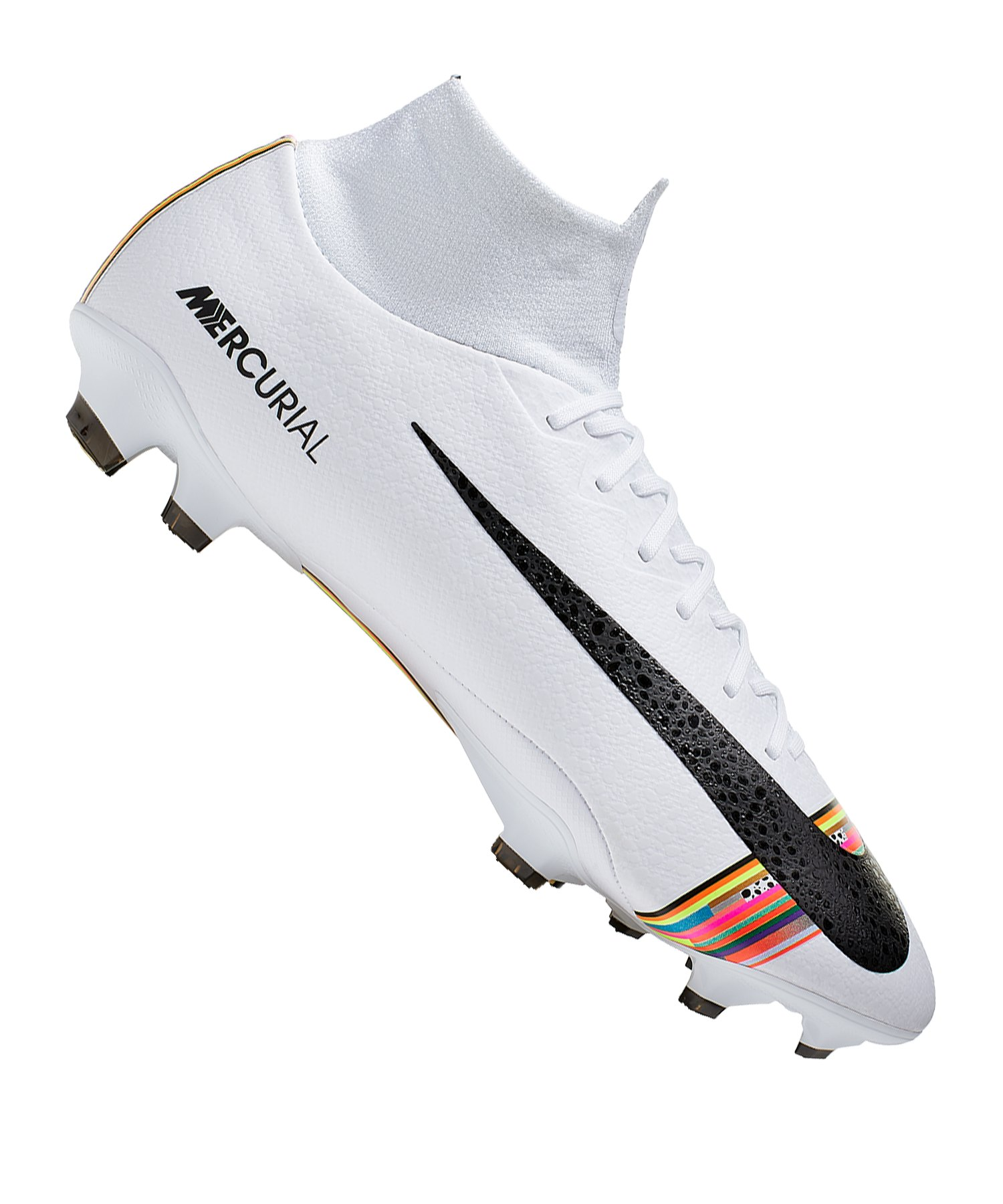 Nike Mercurial Superfly VI Pro FG Weiss F009 - weiss