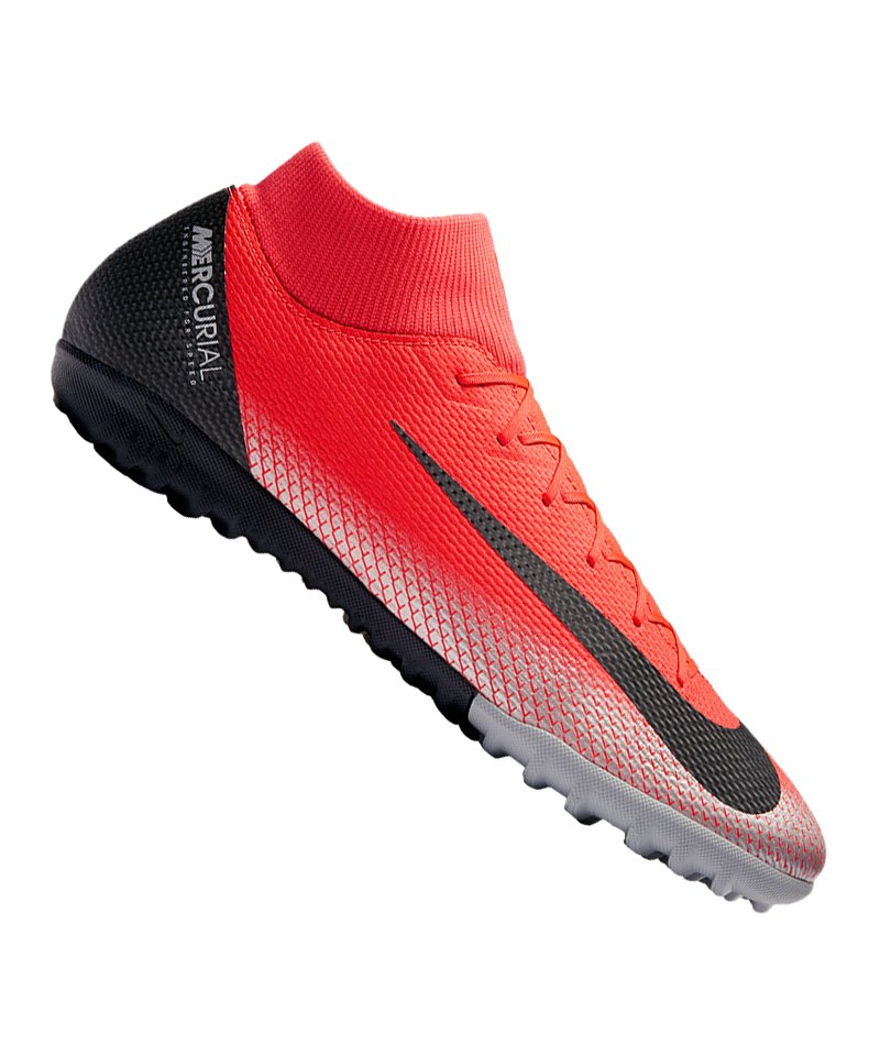 Nike Mercurial SuperflyX VI Academy CR7 TF F600 - rot