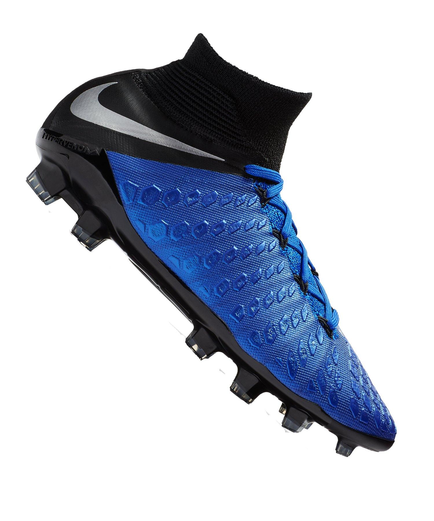Nike Jr Hypervenom Phantom III Elite DF FG Kids F400 - blau