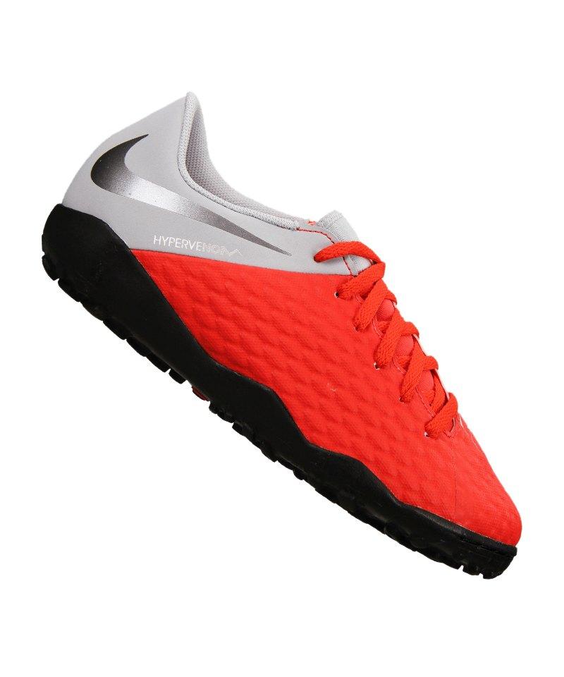 Nike Hypervenom Phantom III Academy TF Kids F600 - rot