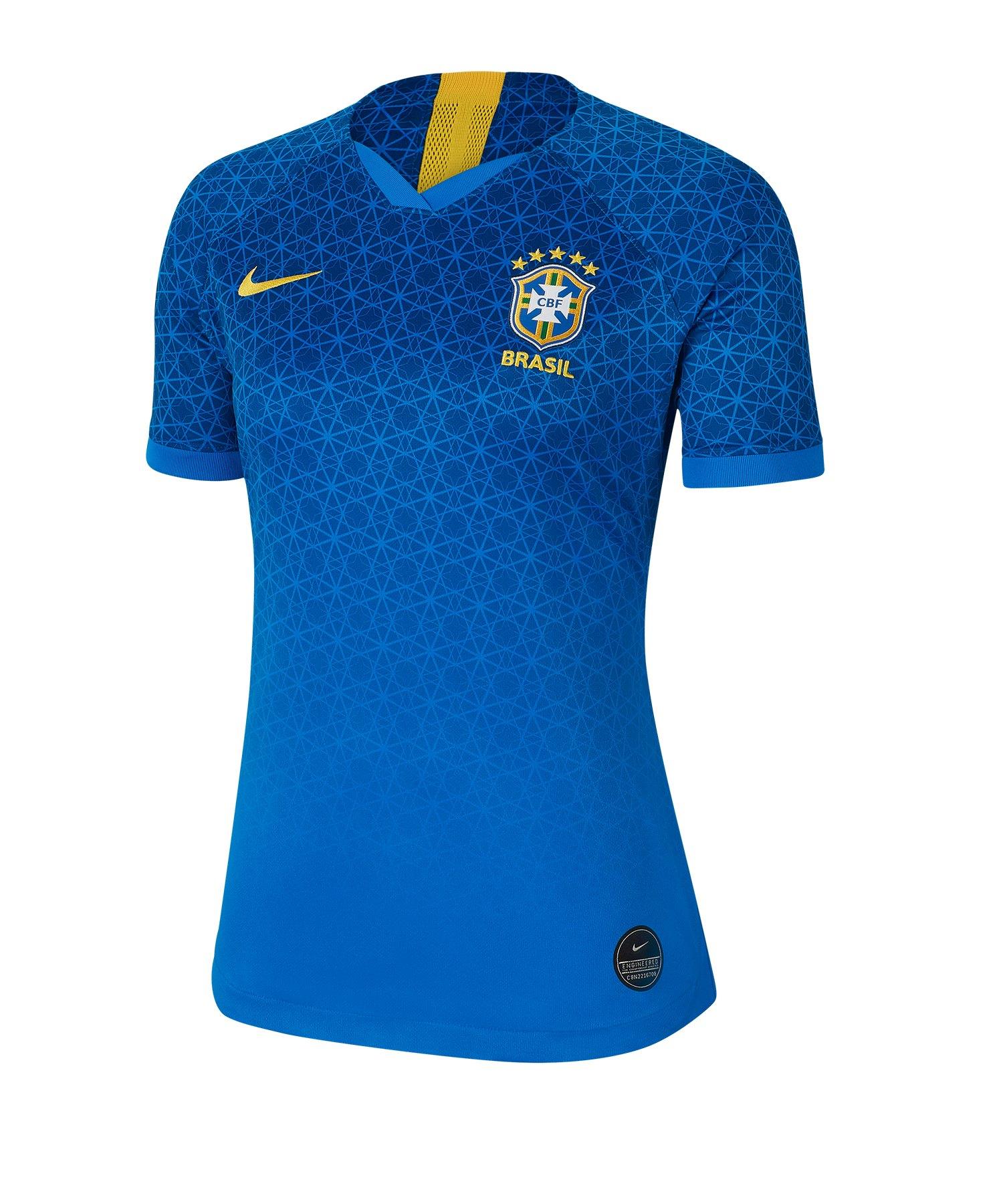 Nike Brasilien Trikot Away Damen WM 2019 Blau F453 - blau