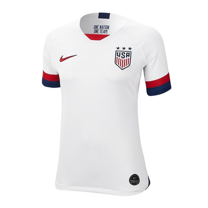 Nike USA Trikot Home Damen WM 2019 Weiss F100 - Weiss