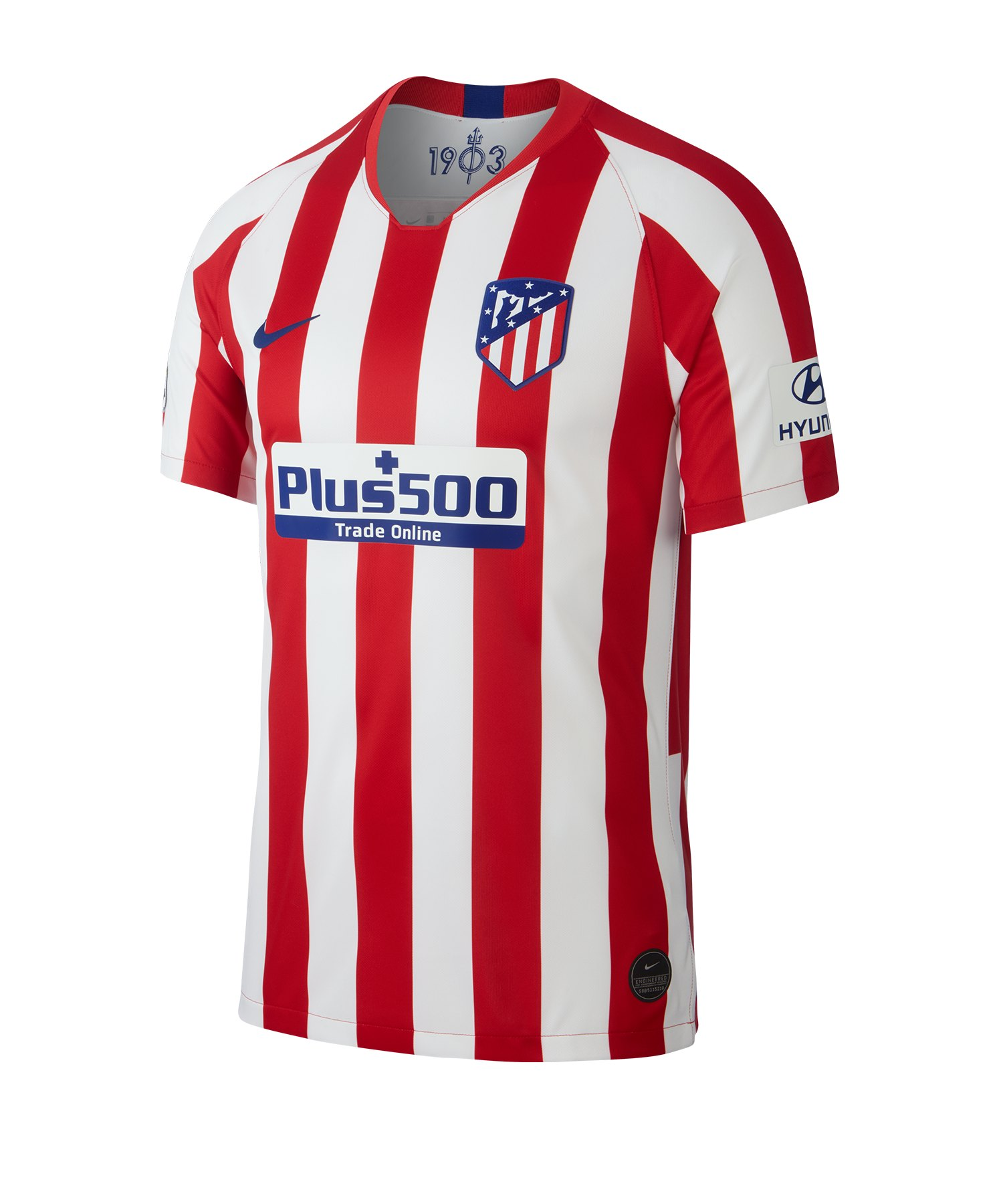 Nike Atletico Madrid Authentic Trikot Home 2019/2020 Rot F612 - Rot