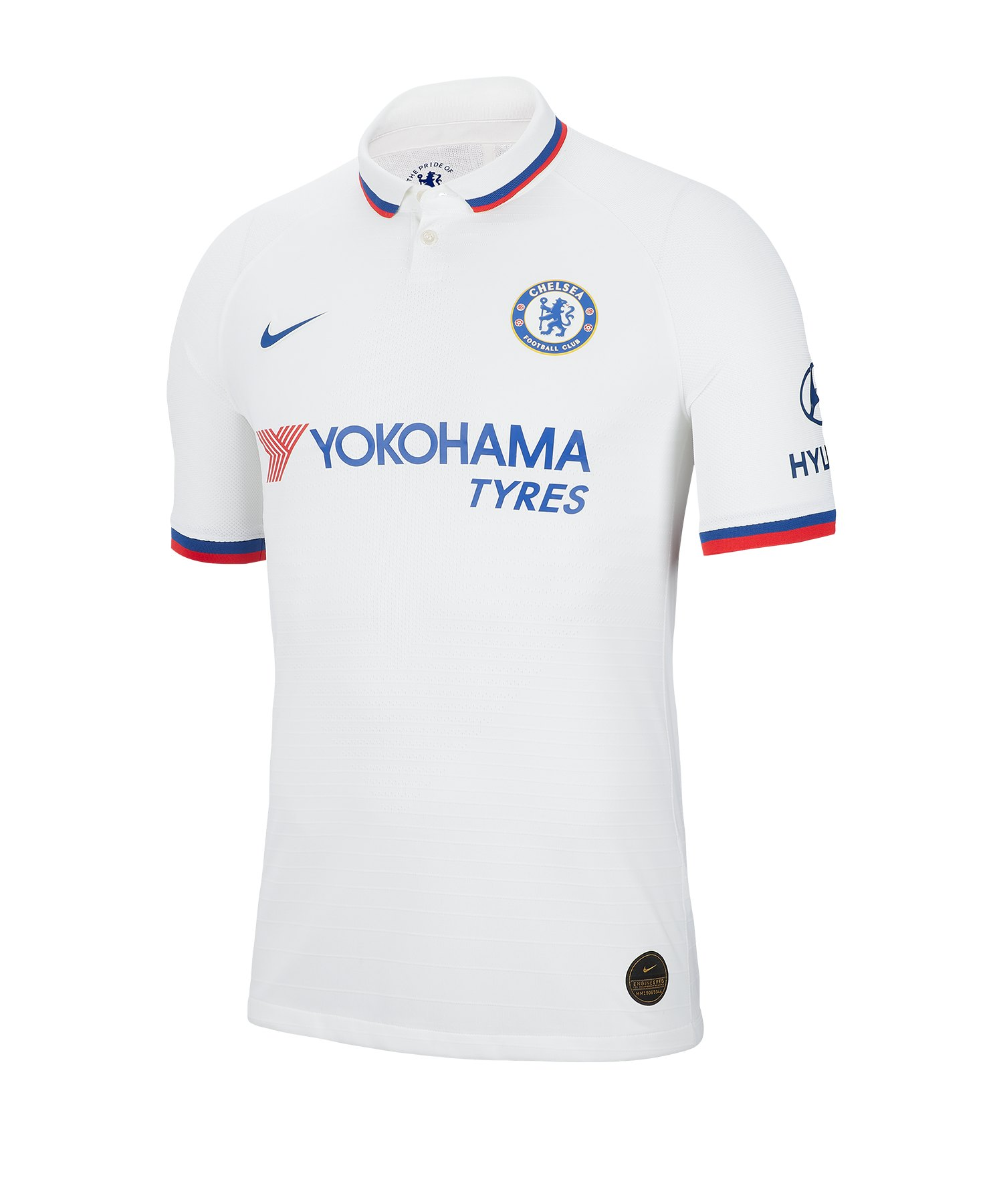 Nike FC Chelsea London Auth Trikot Away 19/20 F101 - weiss