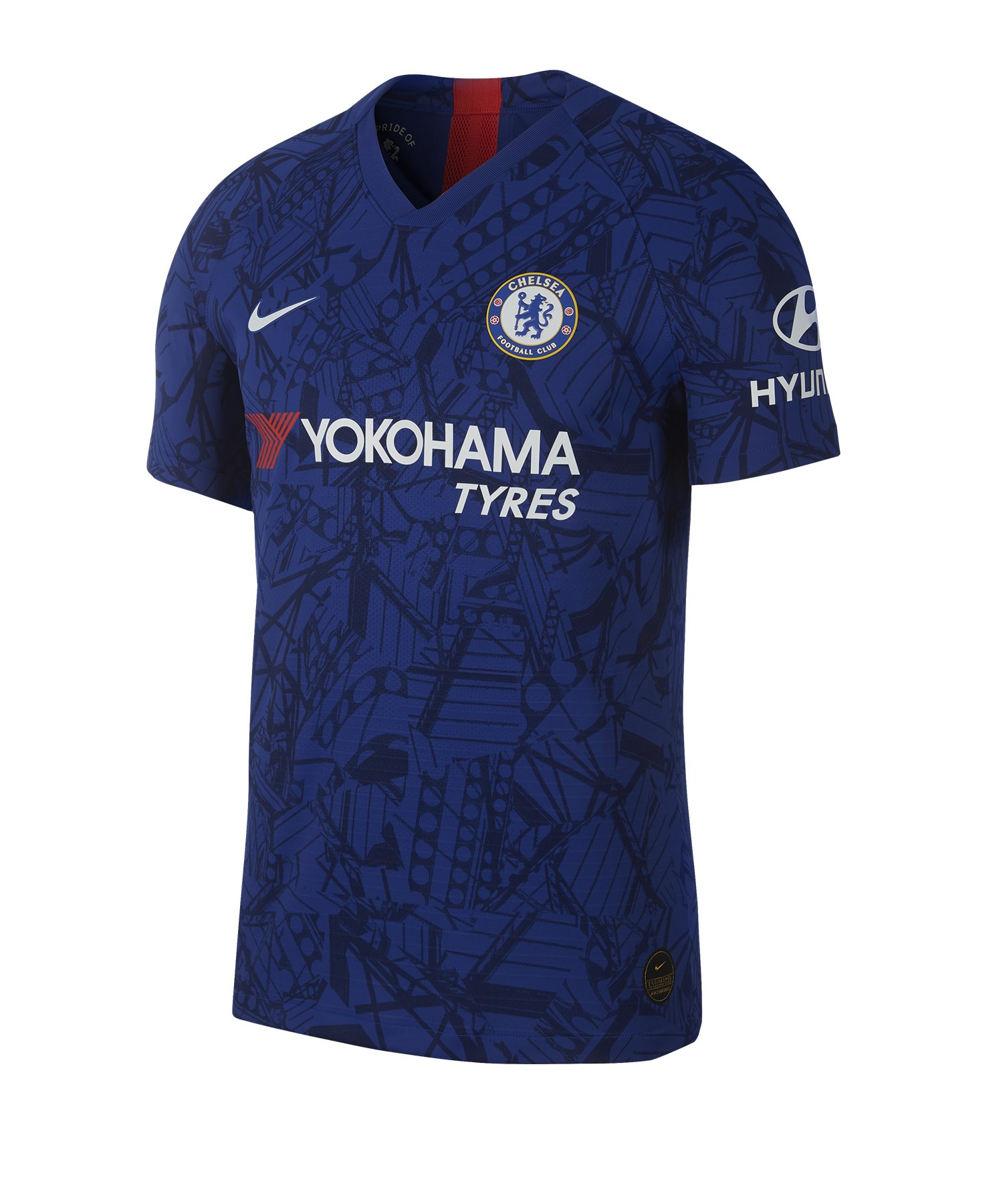 Nike FC Chelsea London Authentic Trikot Home 2019/2020 F495 - Blau