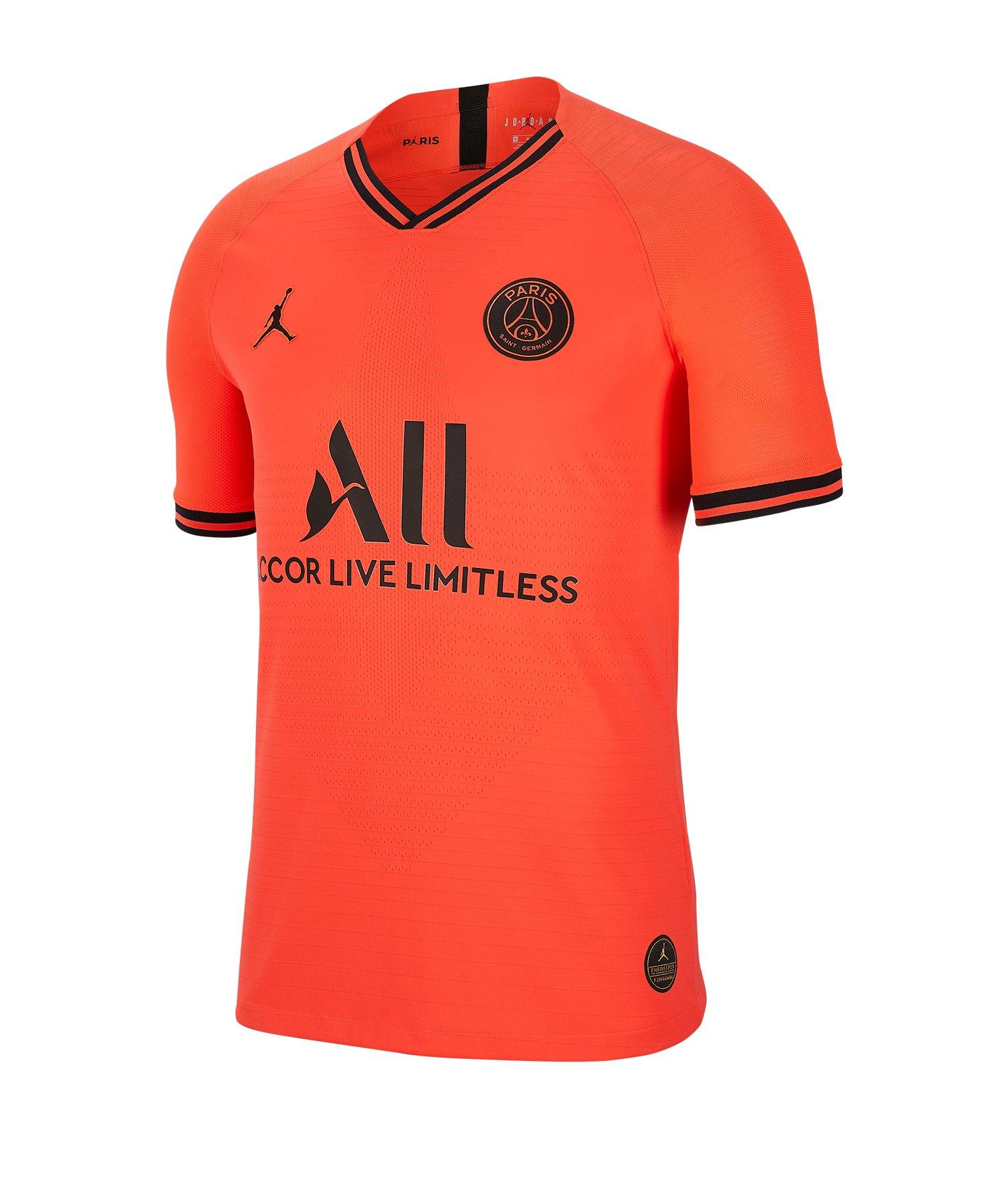 Jordan Paris St. Germain Auth Trikot Away 2019/2020 F613 - rot
