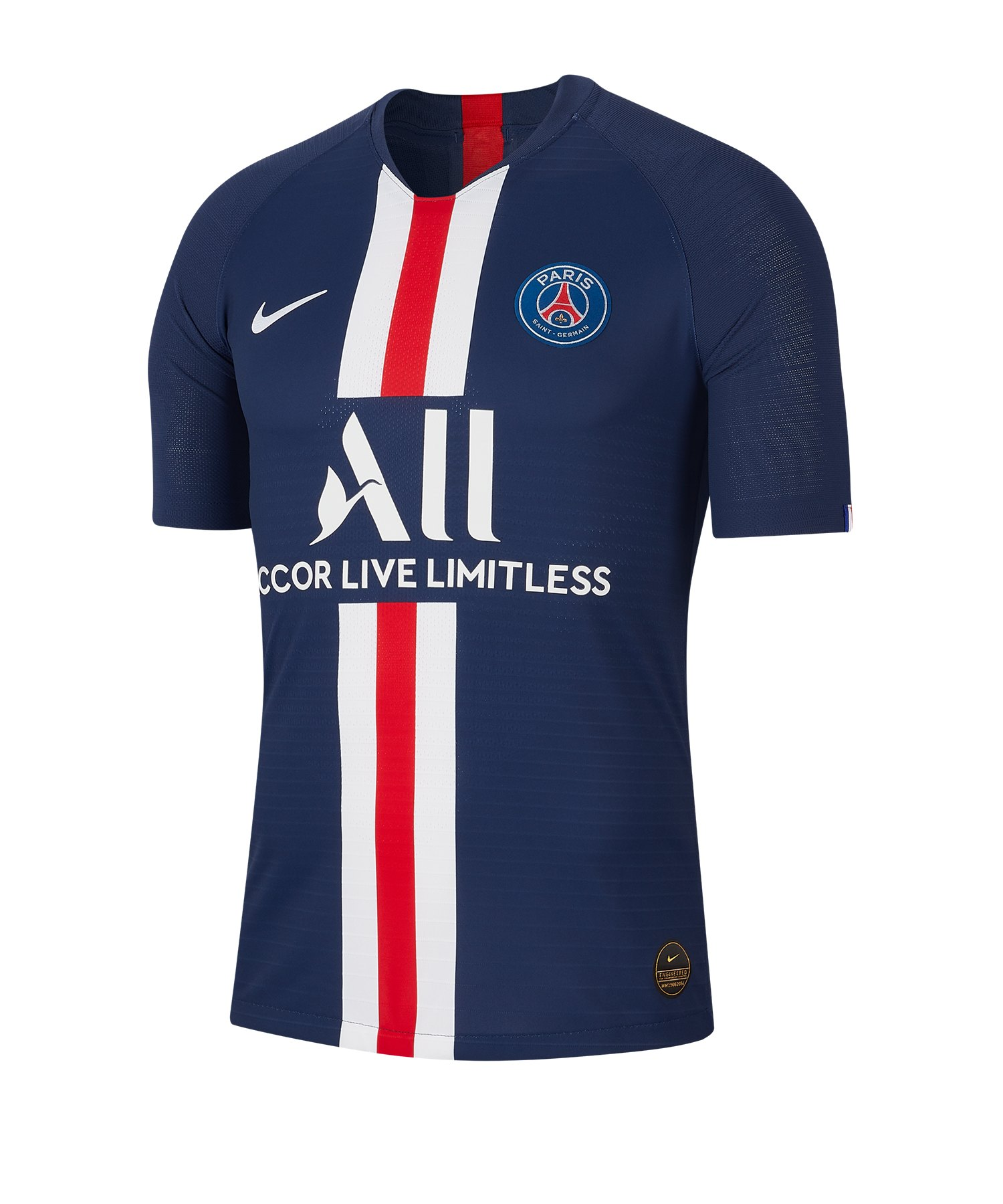 Nike Paris St. Germain Auth Trikot Home 19/20 F411 - blau