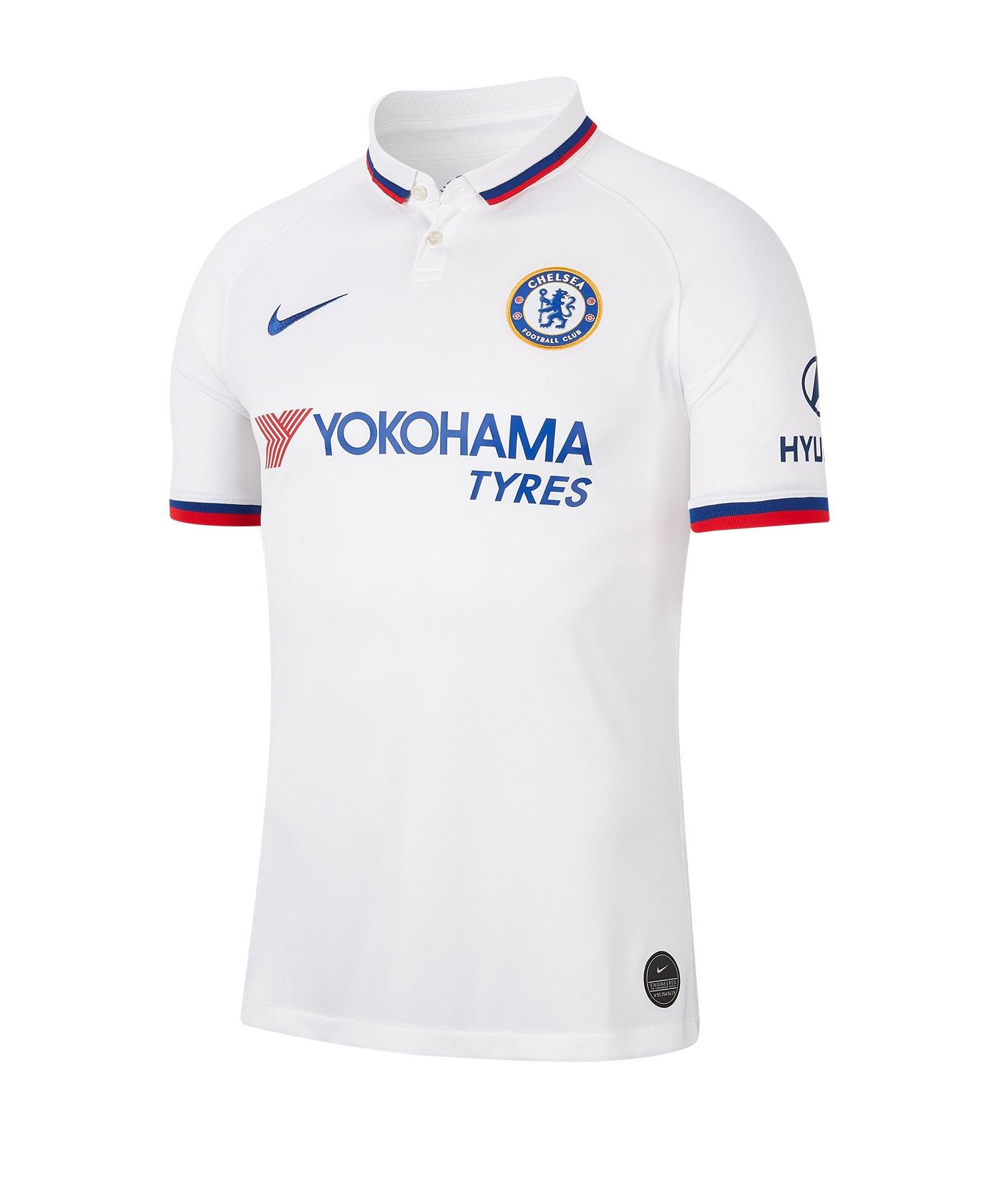 Nike FC Chelsea London Trikot Away 2019/2020 F101 - weiss