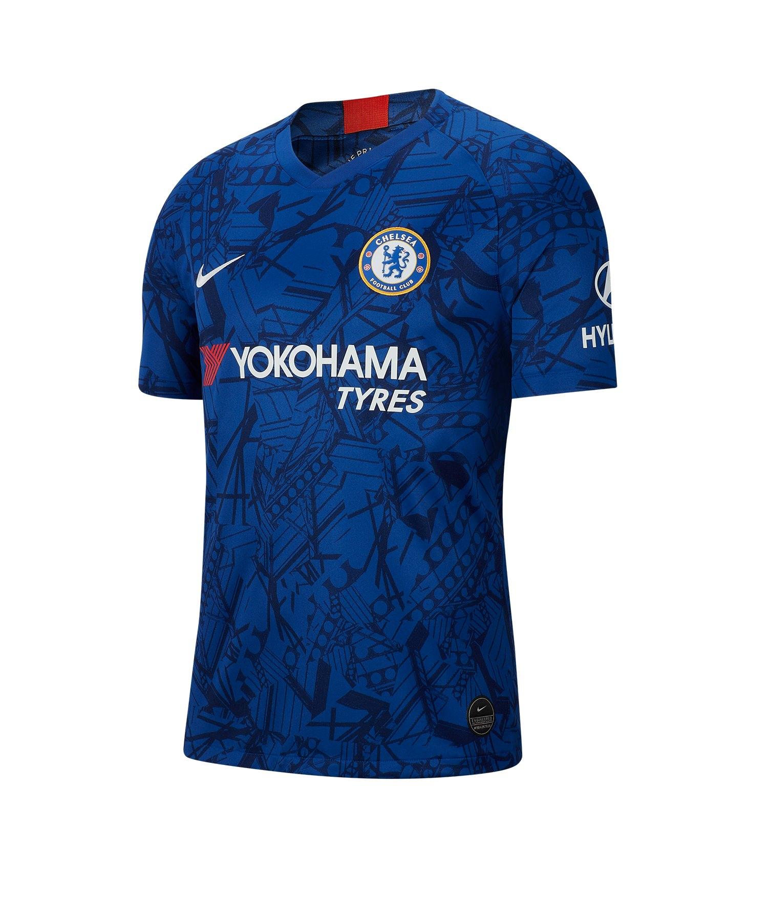 Nike FC Chelsea London Trikot Home 2019/2020 F495 - Blau