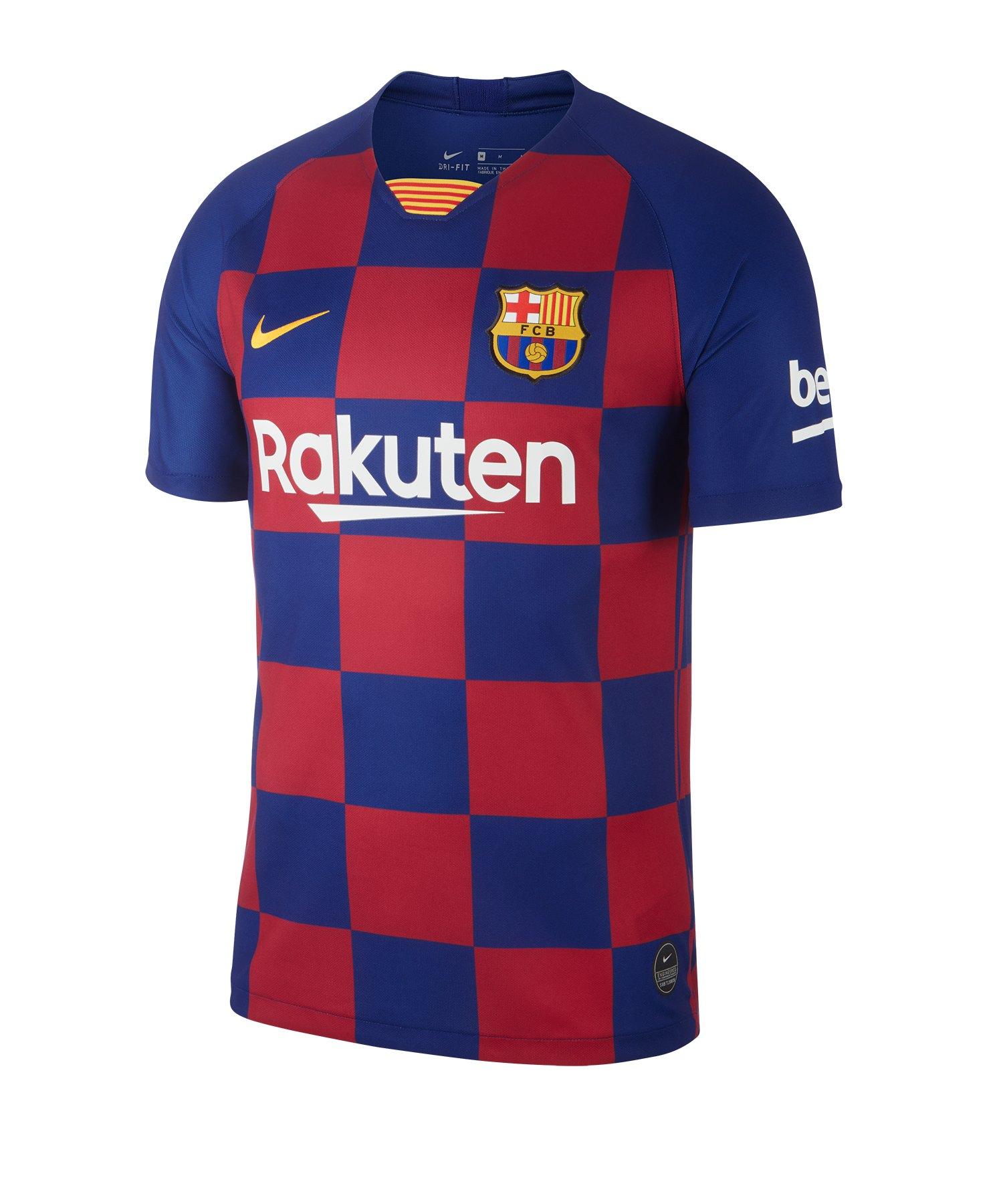 Nike FC Barcelona Trikot Home 2019/2020 Blau F456 - Blau