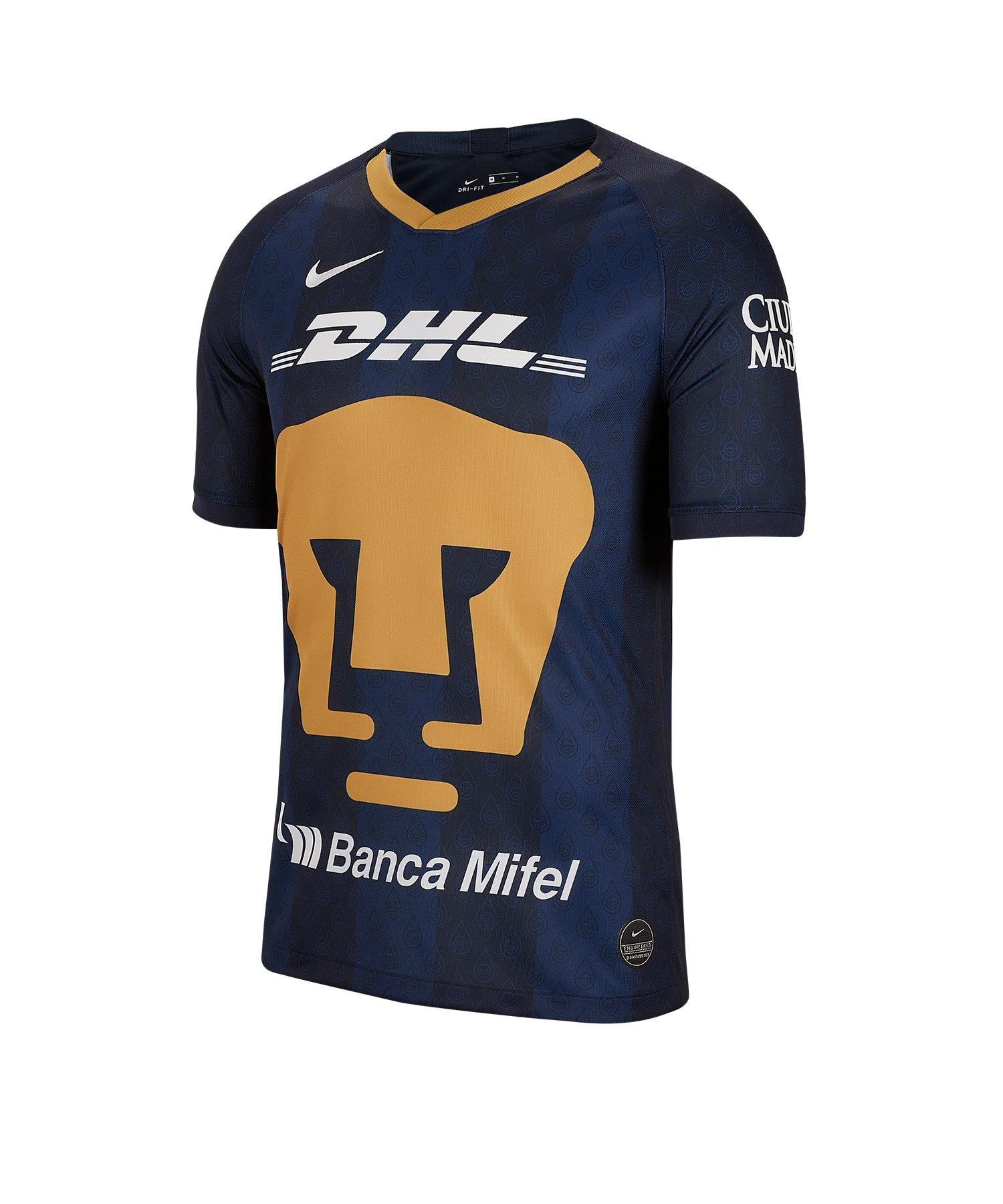 Nike UNAM Pumas Trikot Away 19/20 F453 - blau