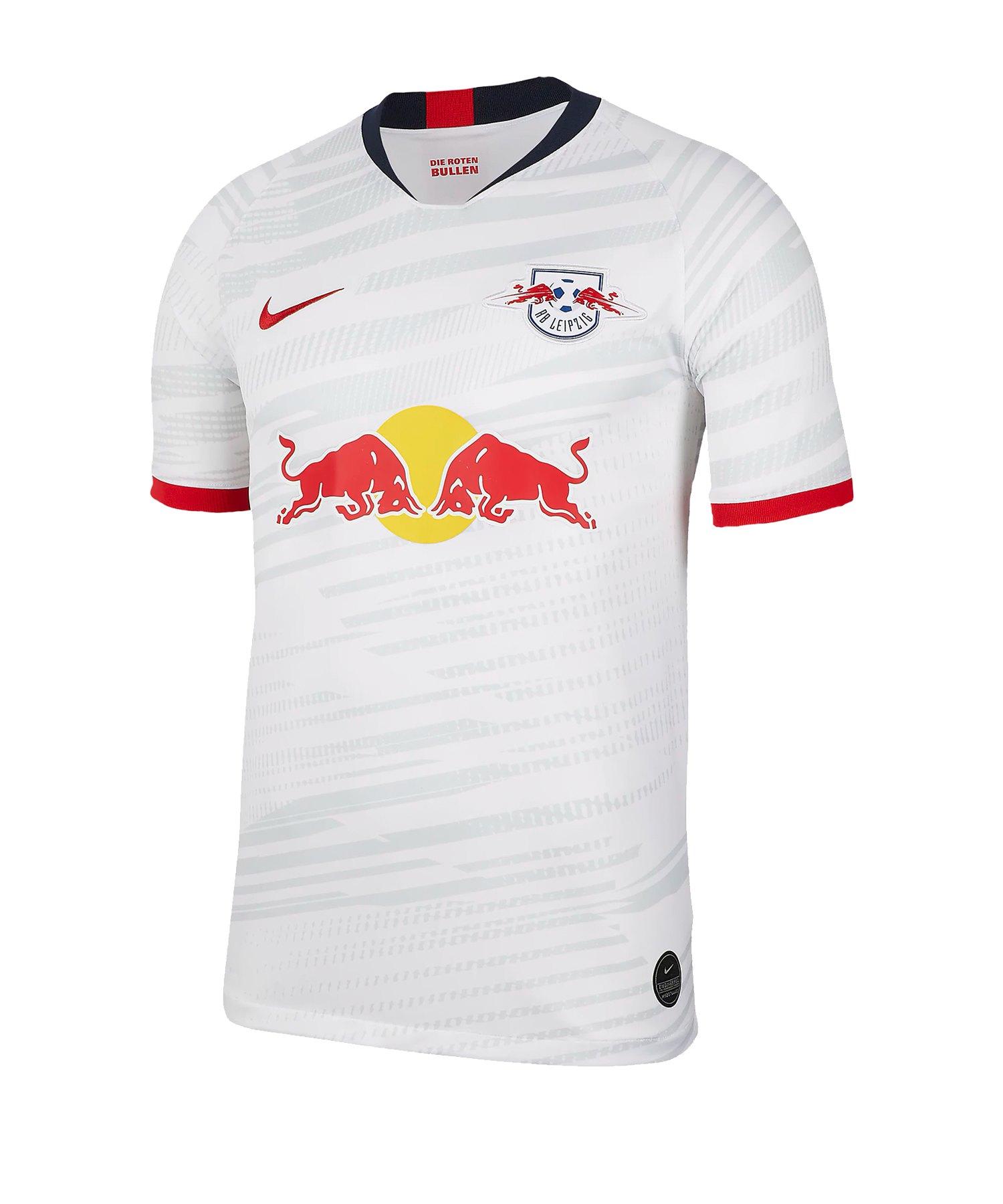 Nike RB Leipzig Trikot Home 2019/2020 Weiss F101 - weiss
