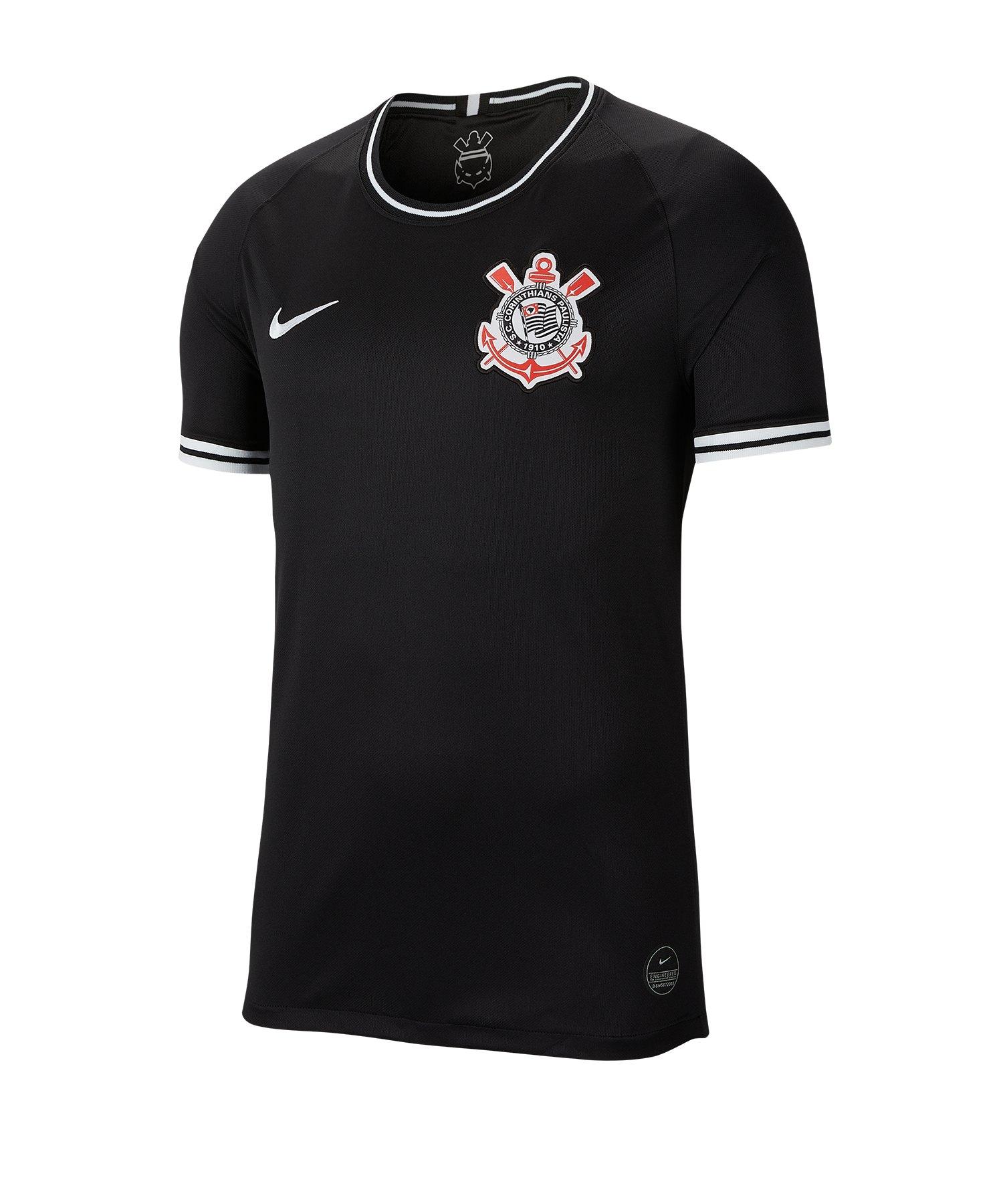 Nike SC Corinthians Trikot Away 19/20 F010 - schwarz