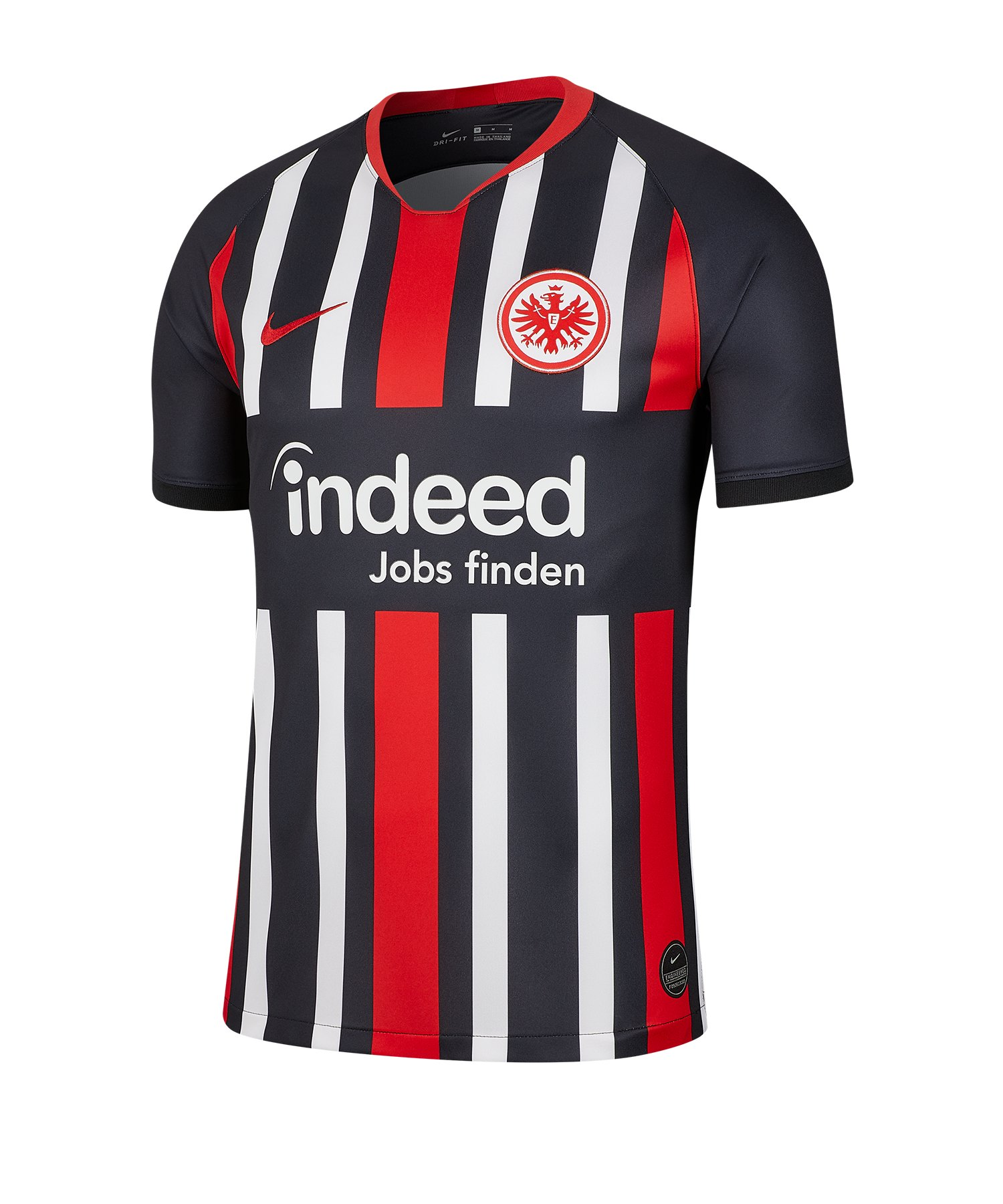 Nike Eintracht Frankfurt Trikot Home 19/20 F011 - schwarz