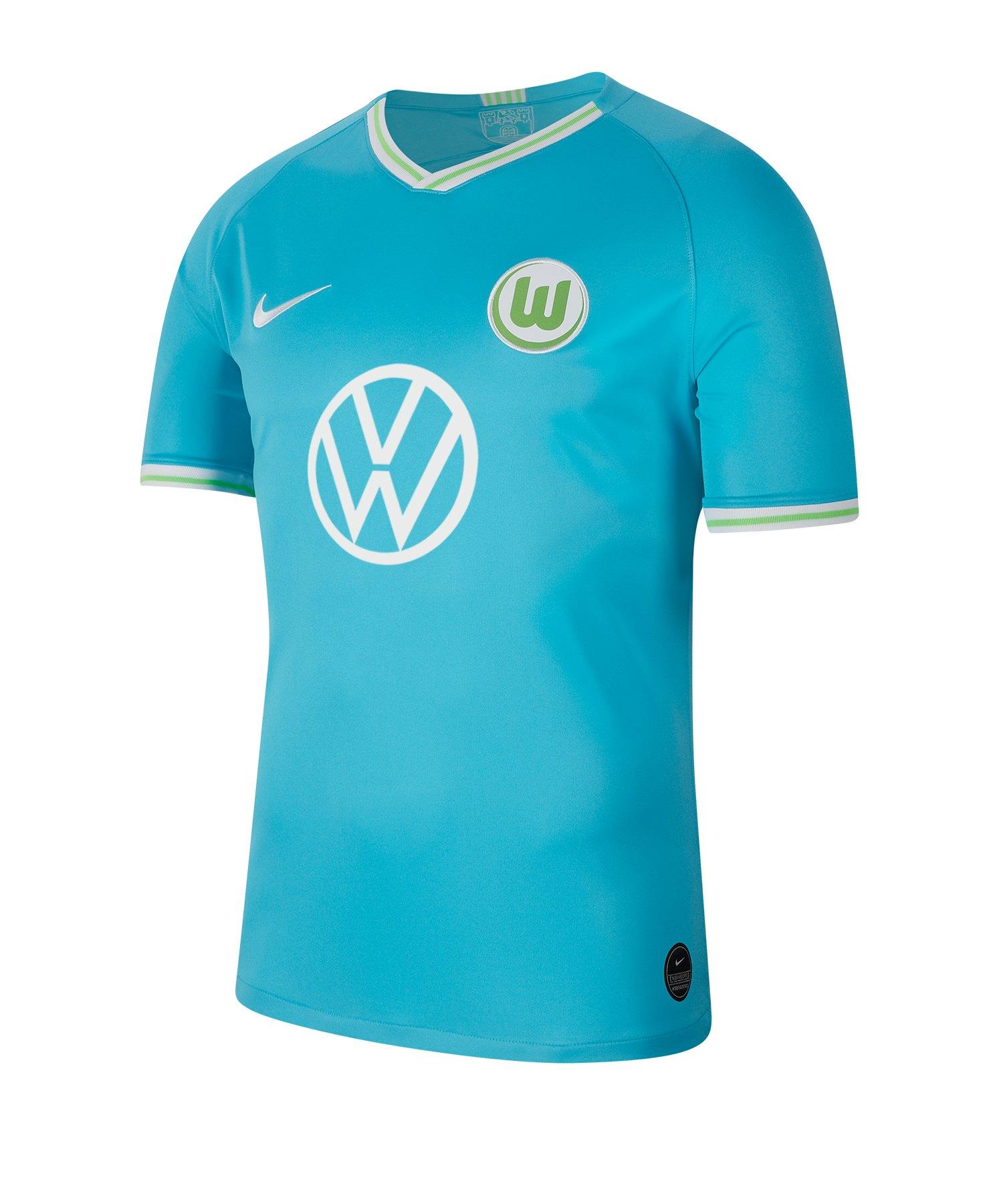 Nike VFL Wolfsburg Trikot Away 2019/2020 F448 - blau