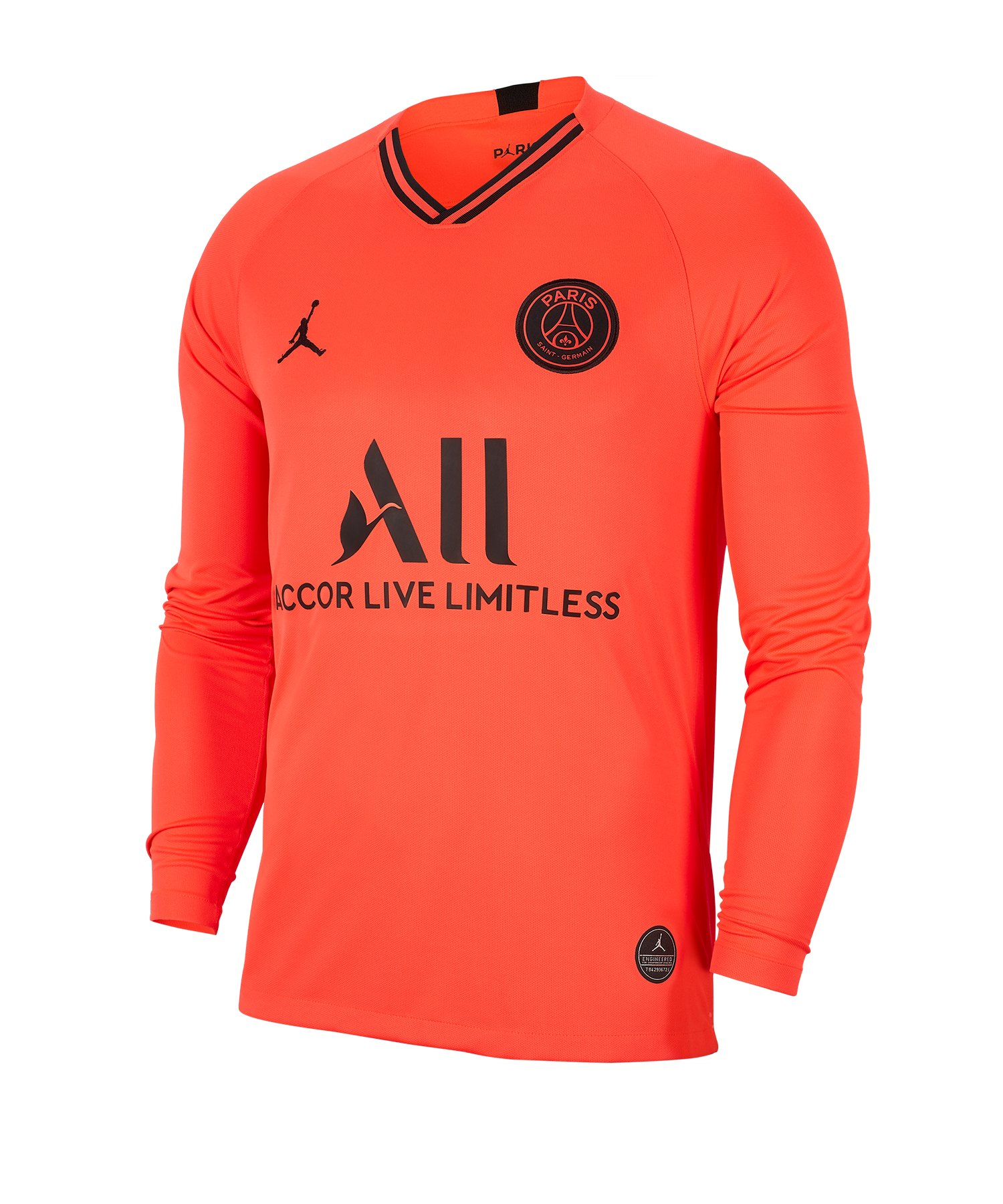 Jordan Paris St. Germain Trikot LA Away 19/20 F613 - orange