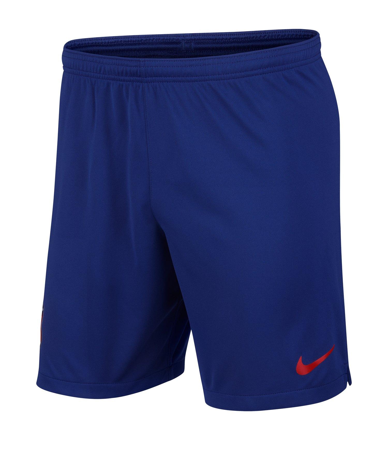Nike Atletico Madrid Short Home 2019/2020 F455 - Blau