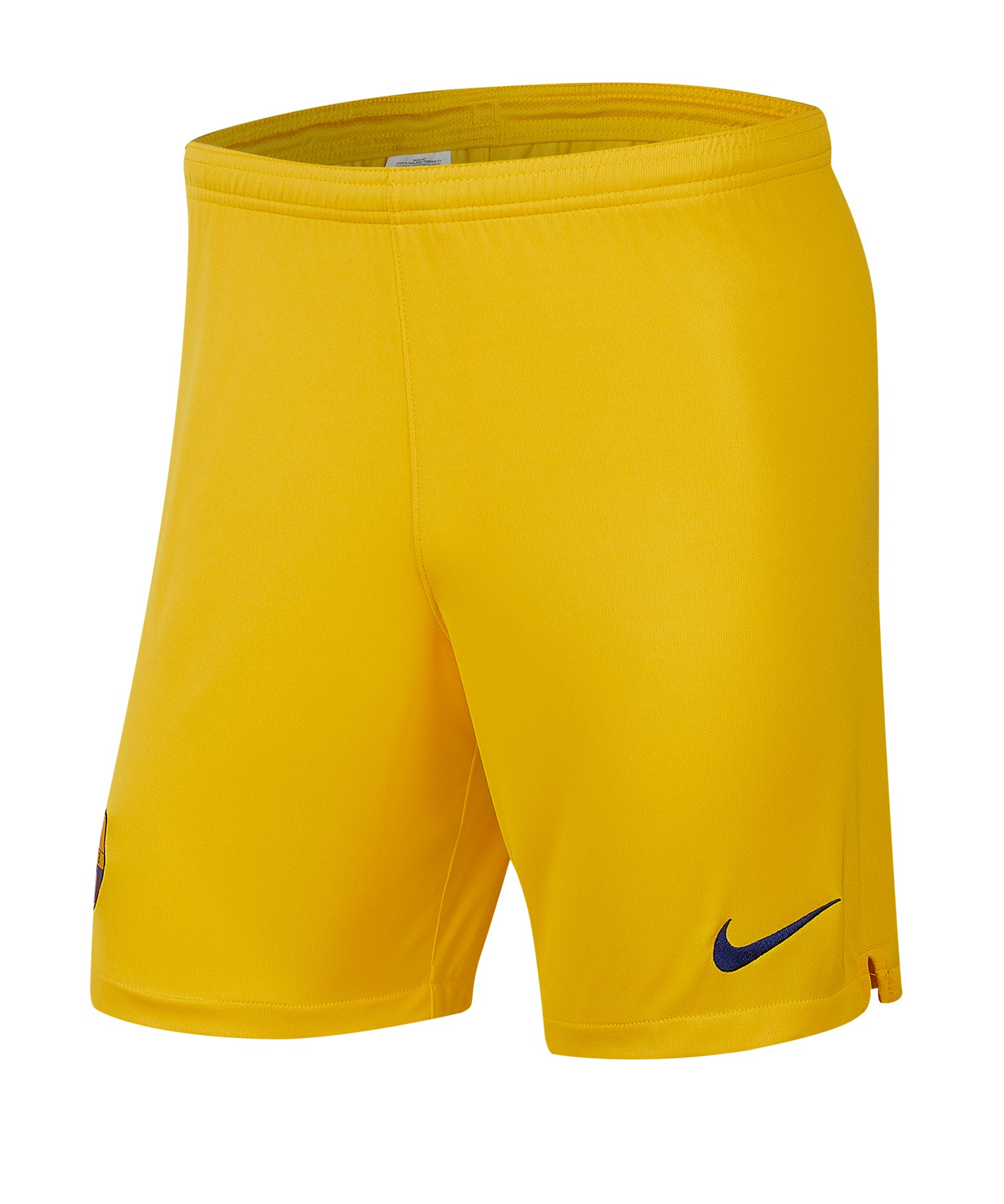Nike FC Barcelona Short Away 2019/2020 Gelb F726 - gelb