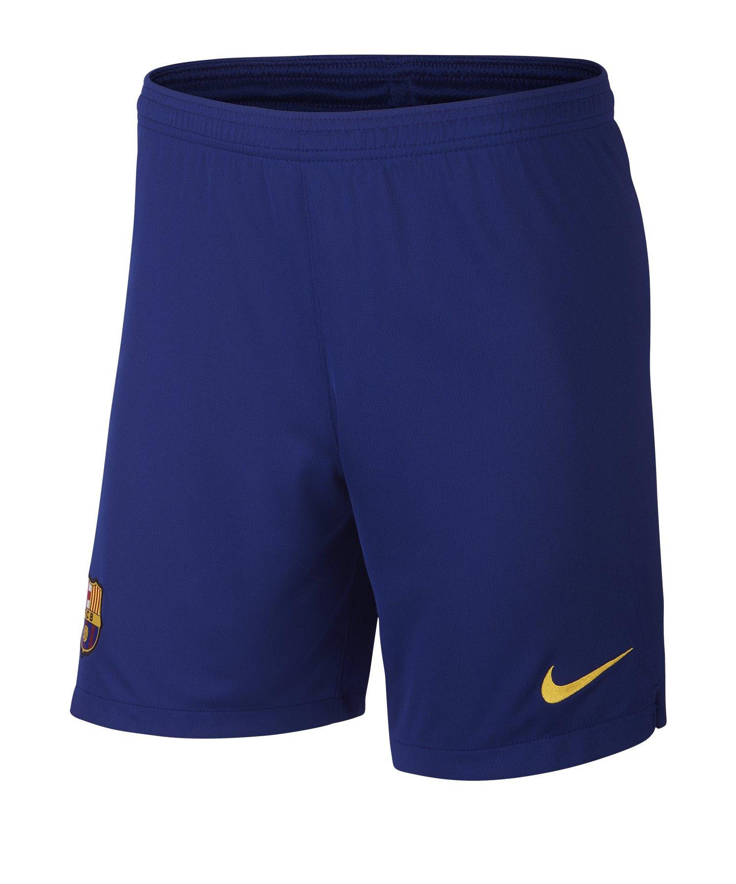 Nike FC Barcelona Short Home 2019/2020 Blau F455 - Blau