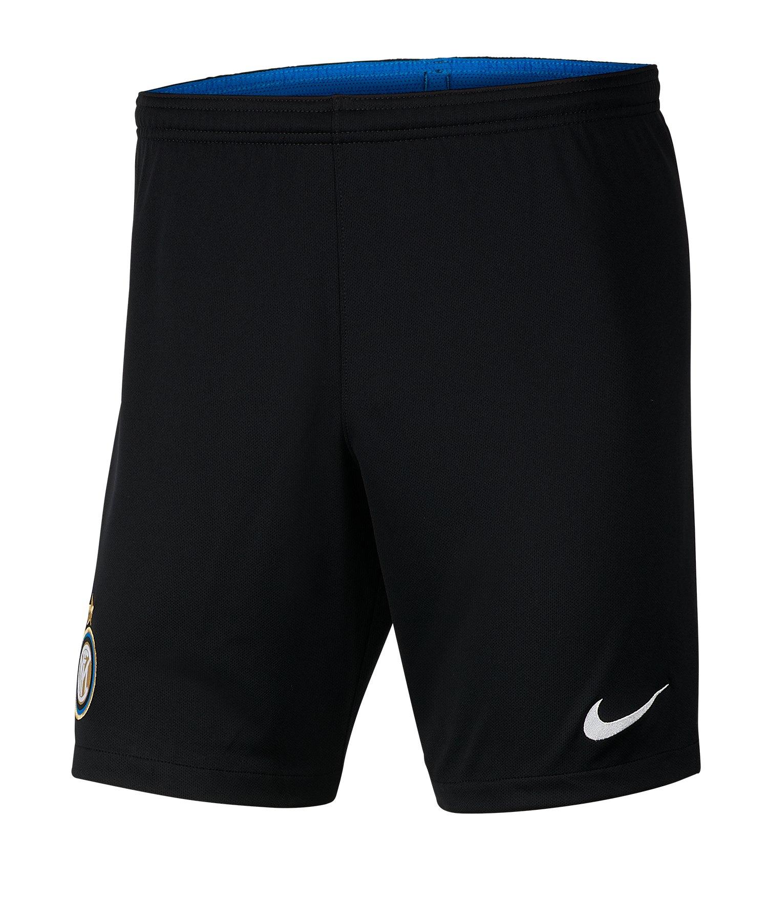 Nike Inter Mailand Short Home 2019/2020 Schwarz F010 - Schwarz