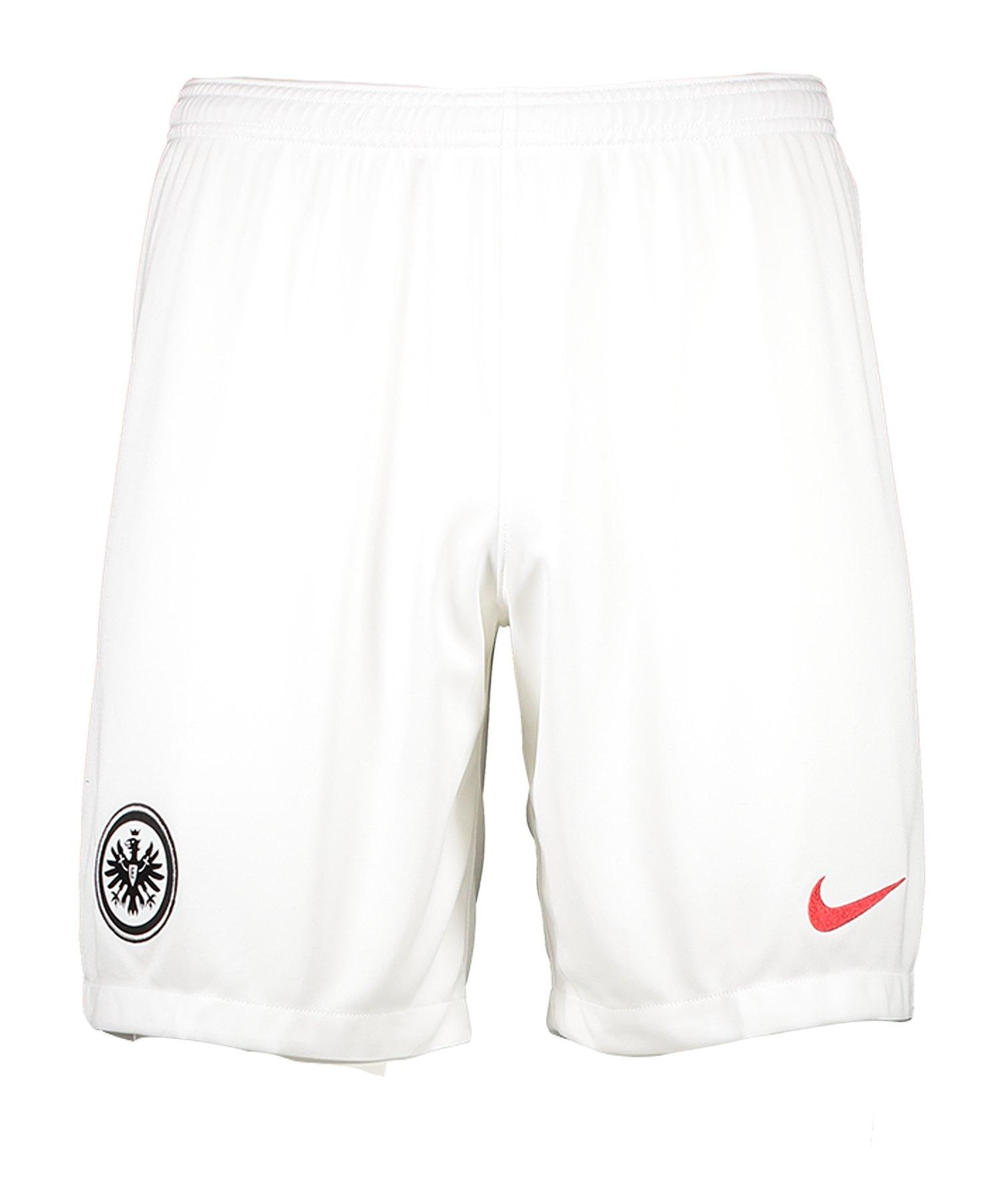Nike Eintracht Frankfurt Short Away 19/20 F100 - weiss